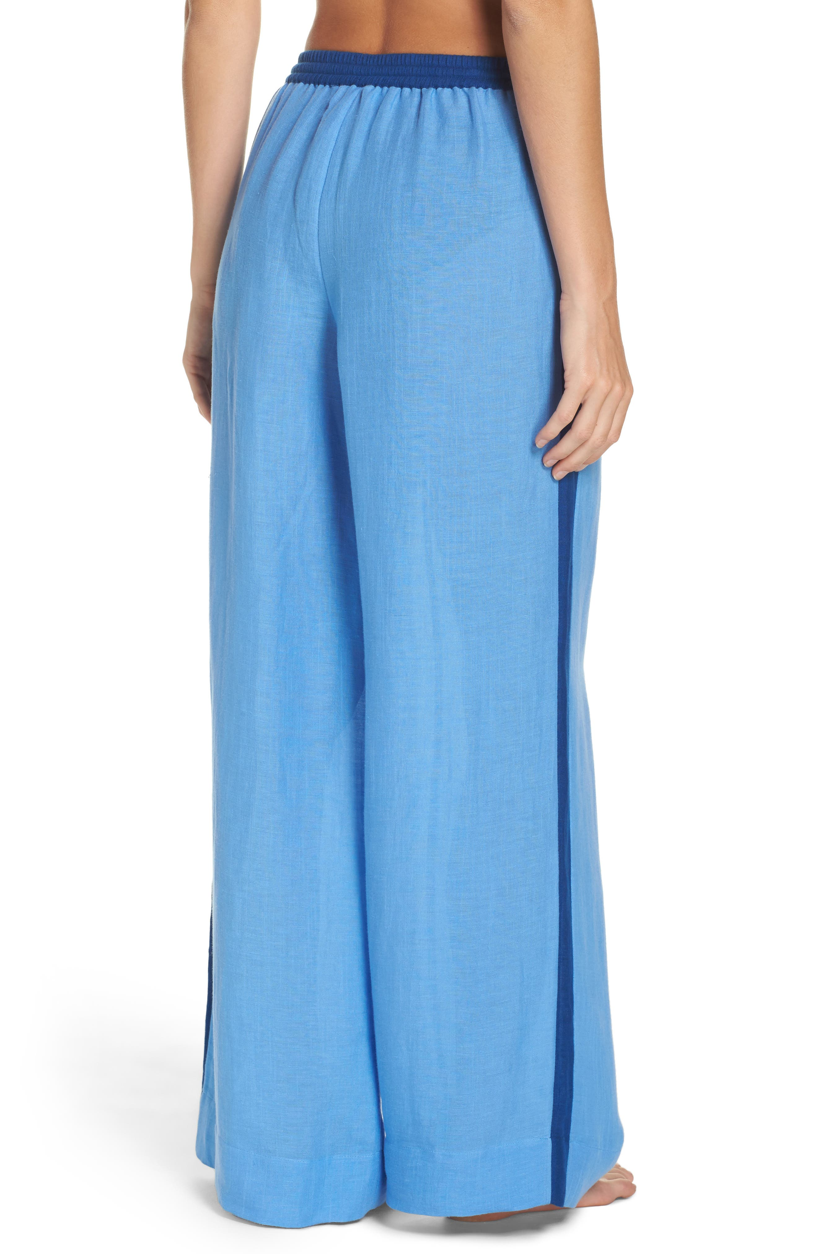 Alternate Image 2  - Diane von Furstenberg Cover-Up Wide Leg Pants