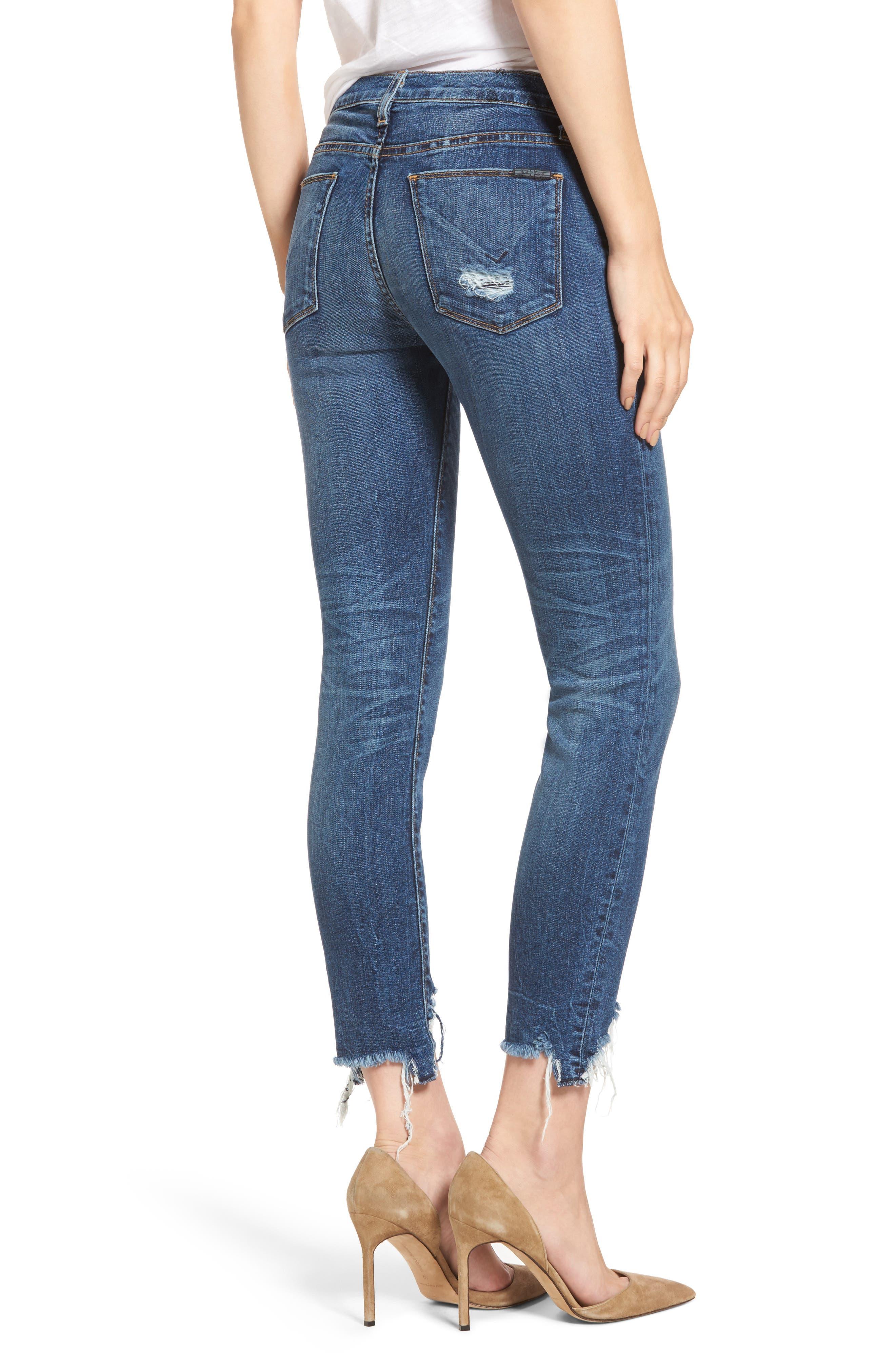 Tally Unfamed Hem Skinny Jeans,                             Alternate thumbnail 3, color,                             Split Second