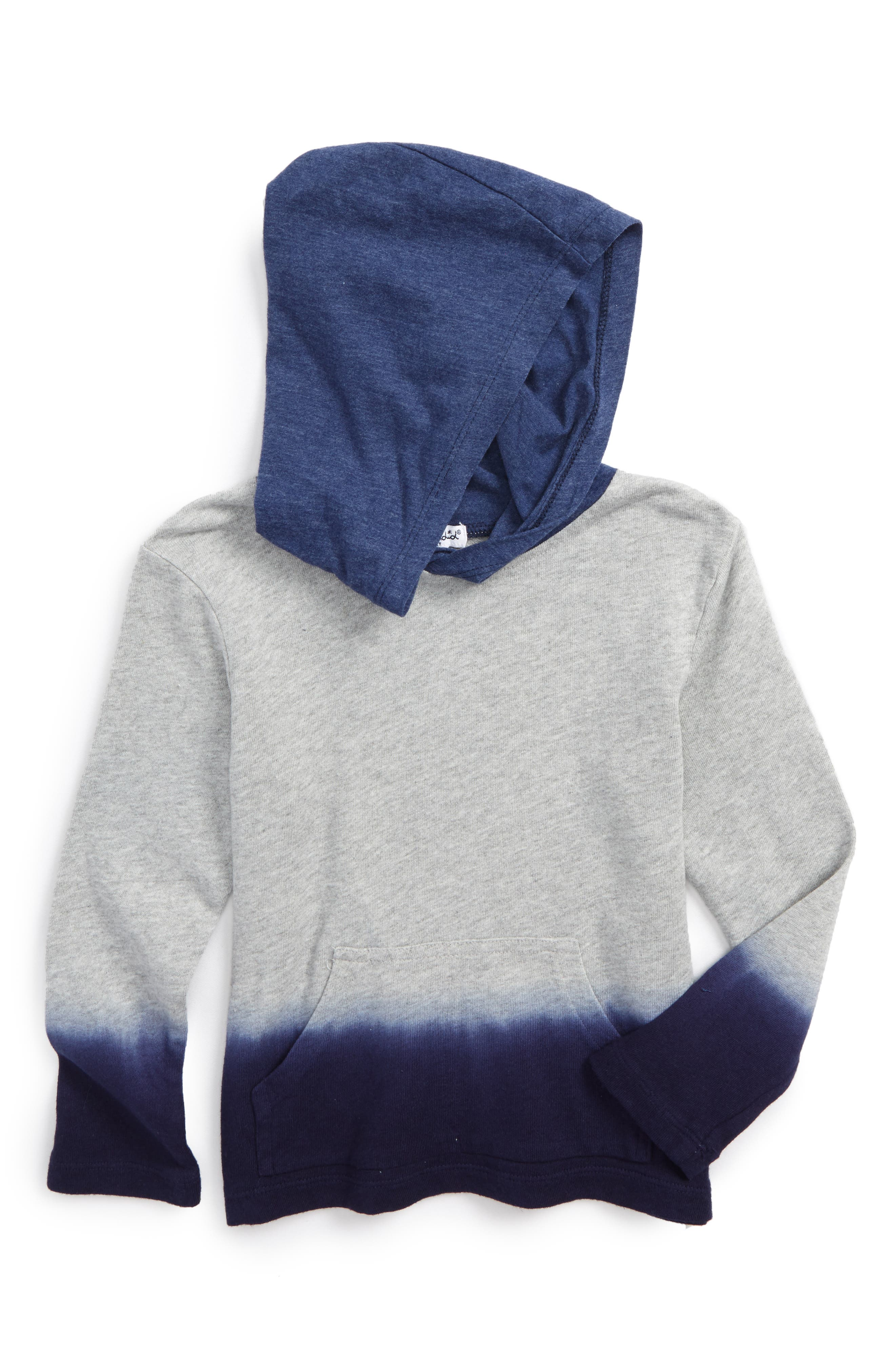 Splendid Dip Dye Hoodie (Toddler Boys & Little Boys)
