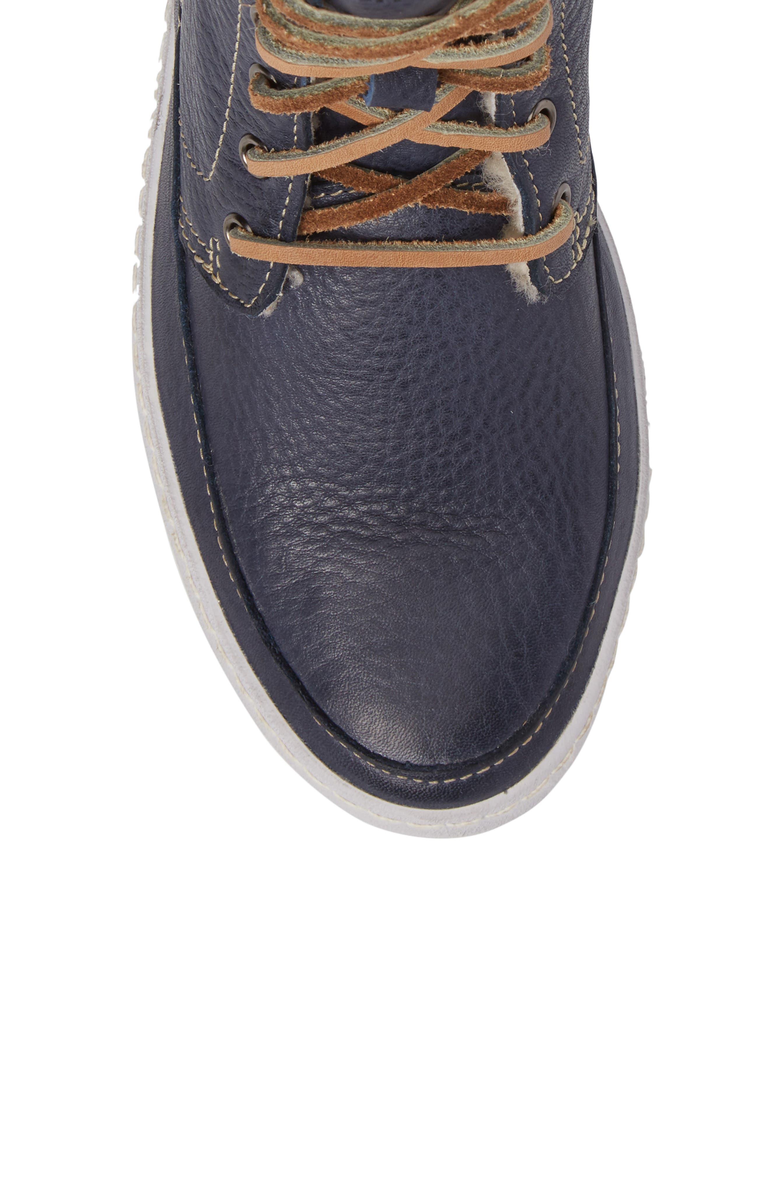 Alternate Image 5  - Blackstone 'CW96' Genuine Shearling Lined Sneaker Boot (Women)