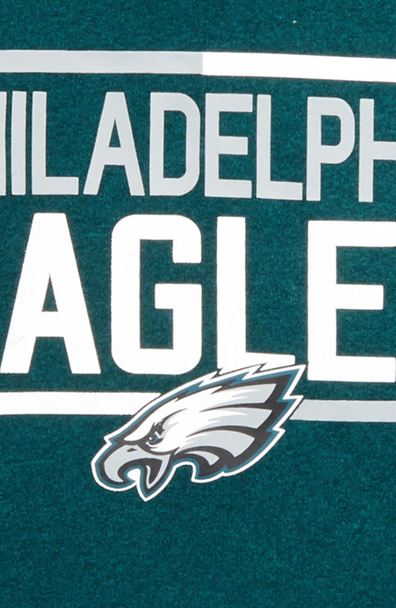NFL Philadelphia Eagles Hoodie,                             Alternate thumbnail 2, color,                             Green