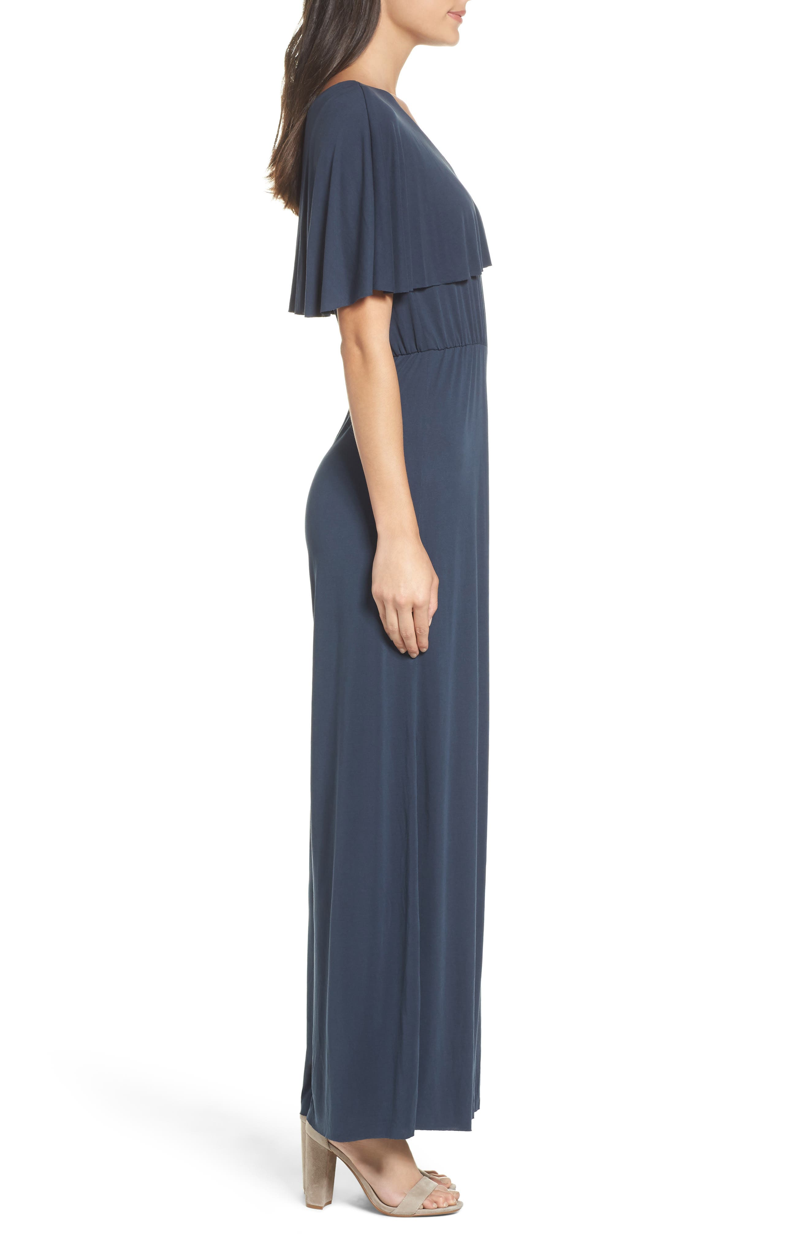 Alternate Image 3  - NSR One-Shoulder Jumpsuit