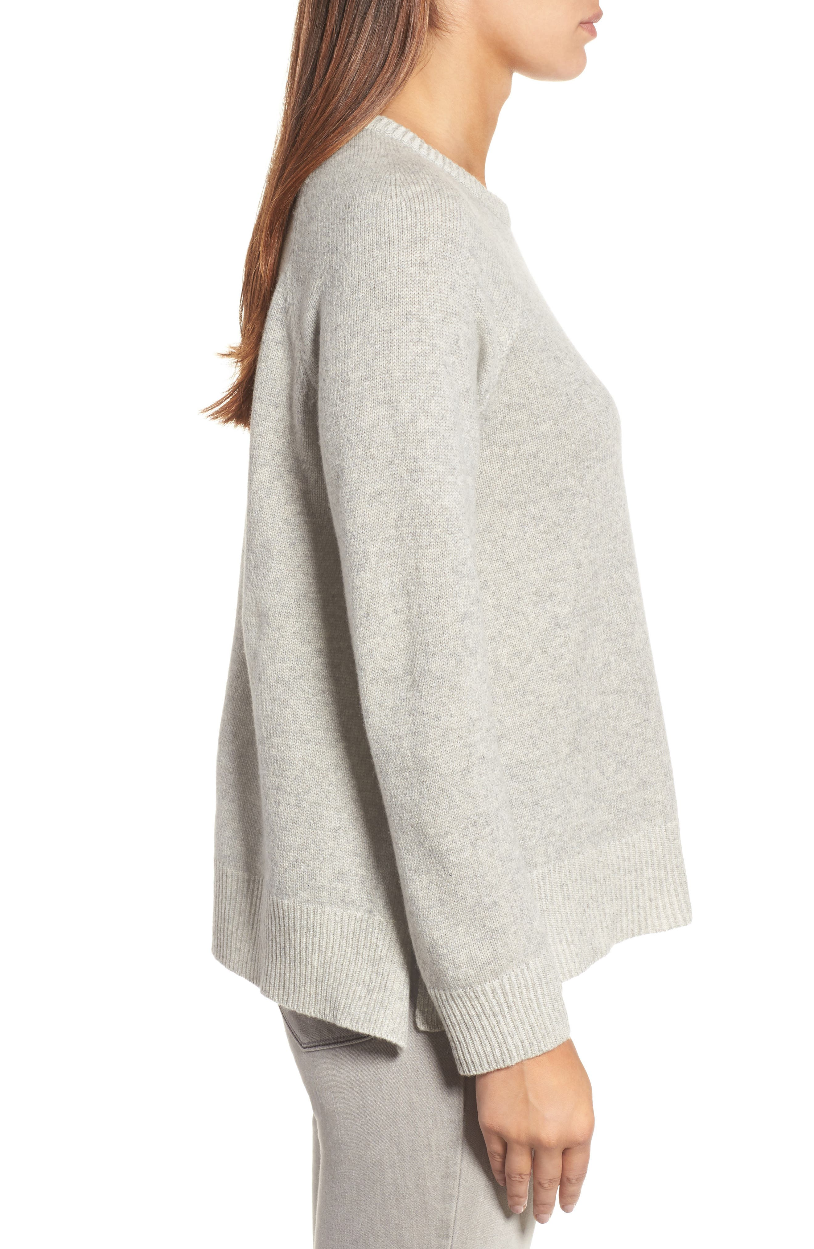 Alternate Image 3  - Eileen Fisher Cashmere Blend Sweater