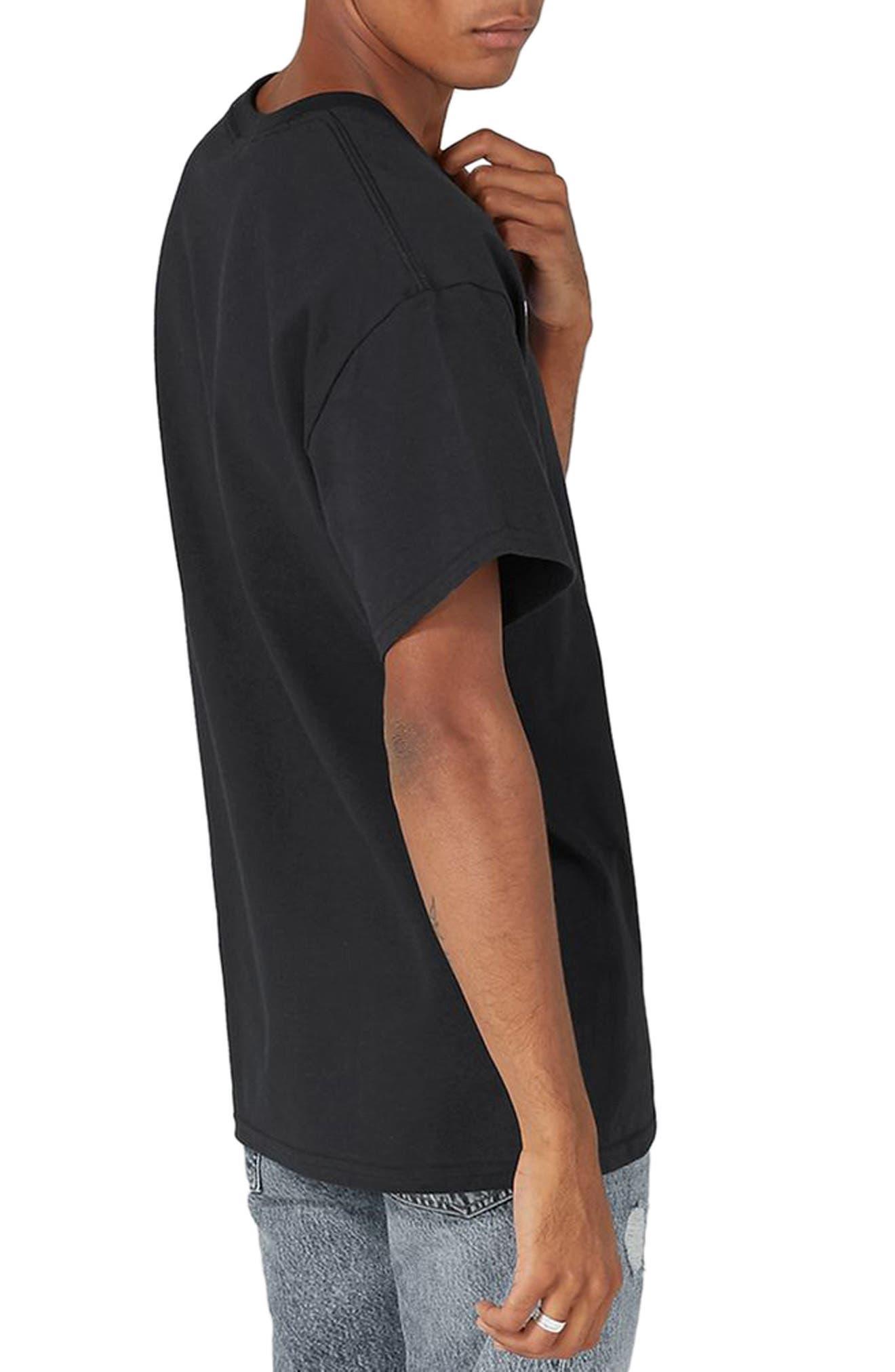 Snoop Dogg T-Shirt,                             Alternate thumbnail 2, color,                             Black Multi