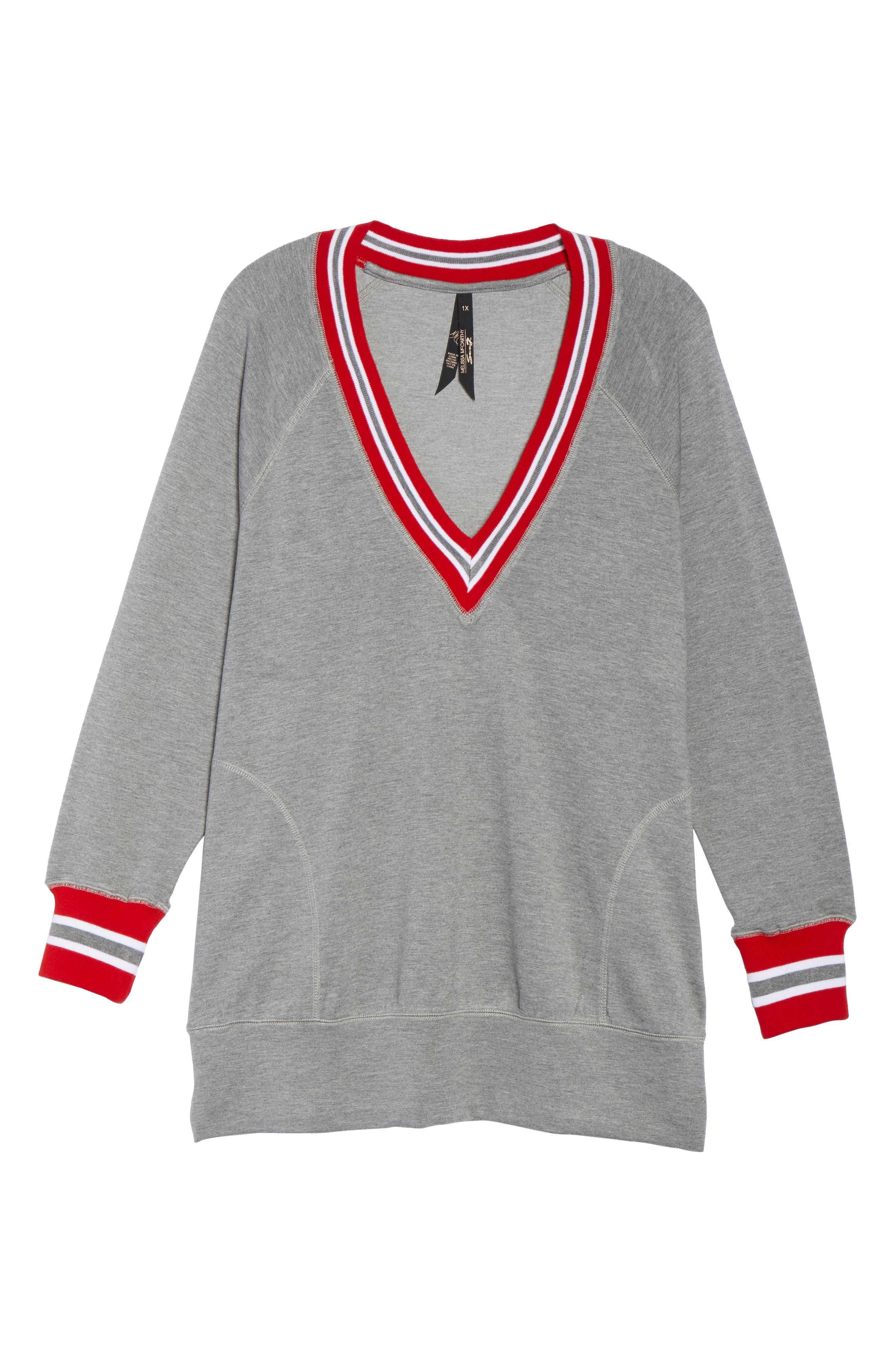 Alternate Image 6  - Melissa McCarthy Seven7 Sweatshirt (Plus Size)