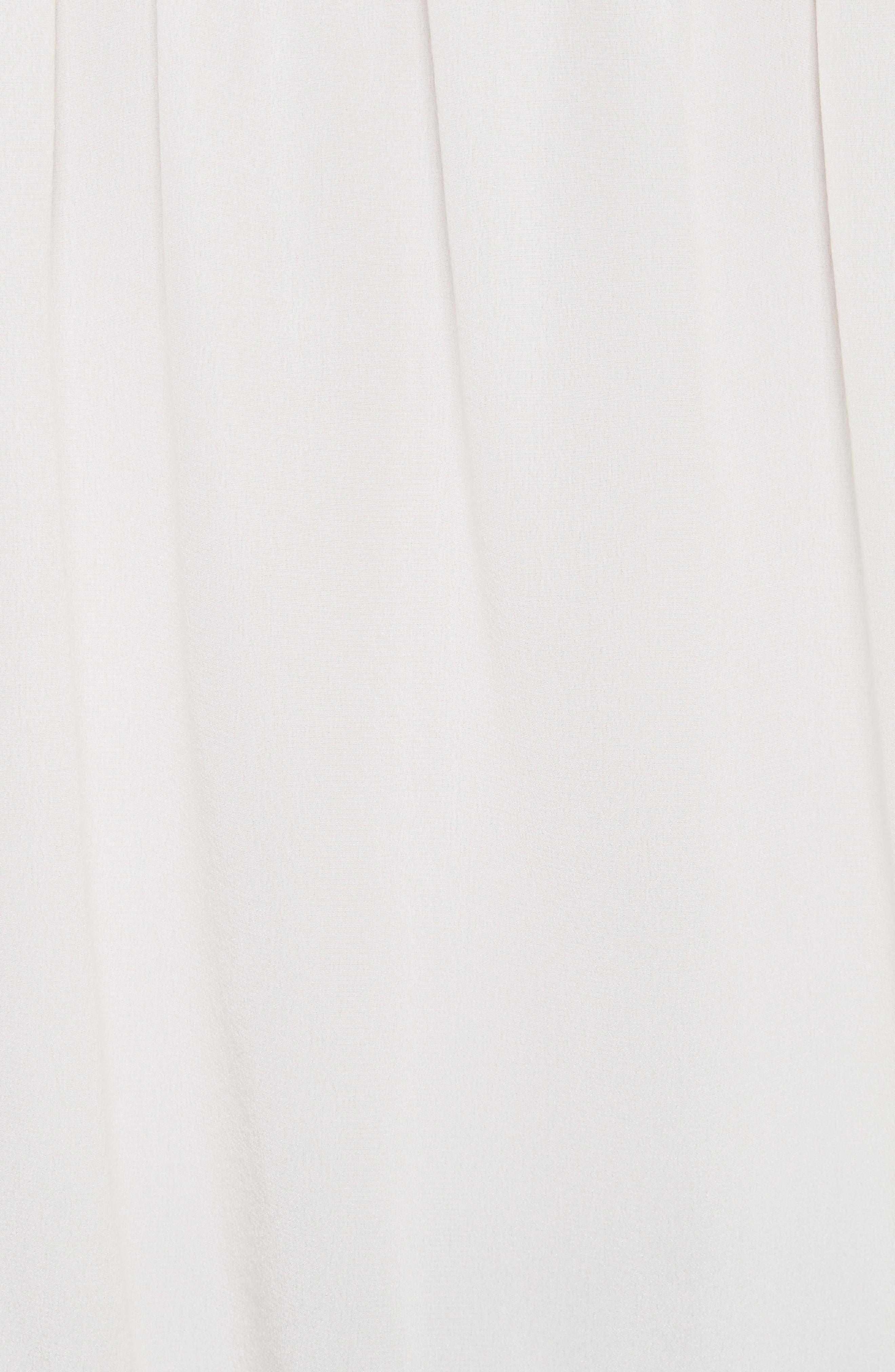 Lively Silk Top,                             Alternate thumbnail 5, color,                             Parchment