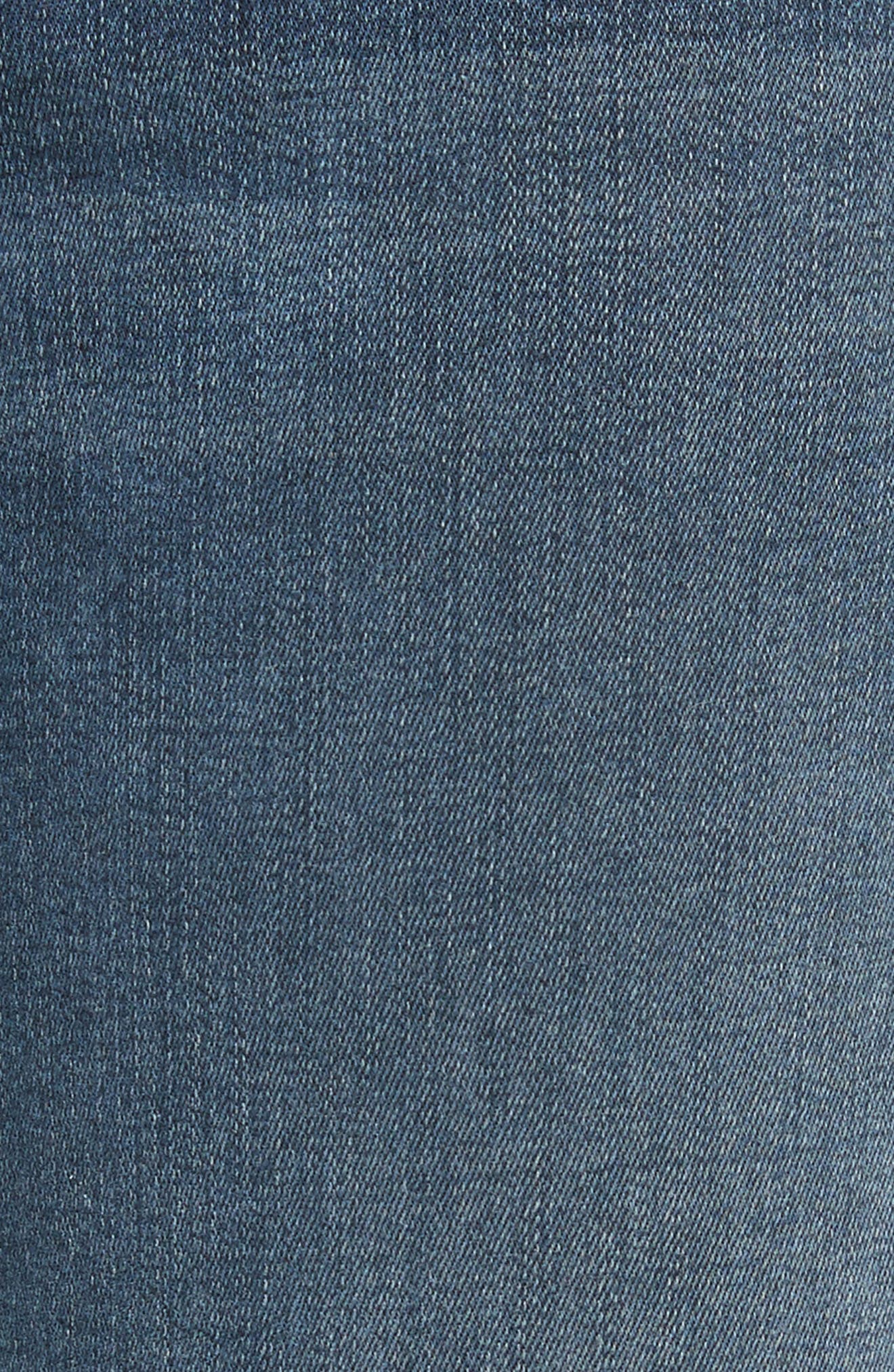 Alternate Image 6  - FRAME Le Crop Mini Boot Stagger Hem Jeans (Fenwick)