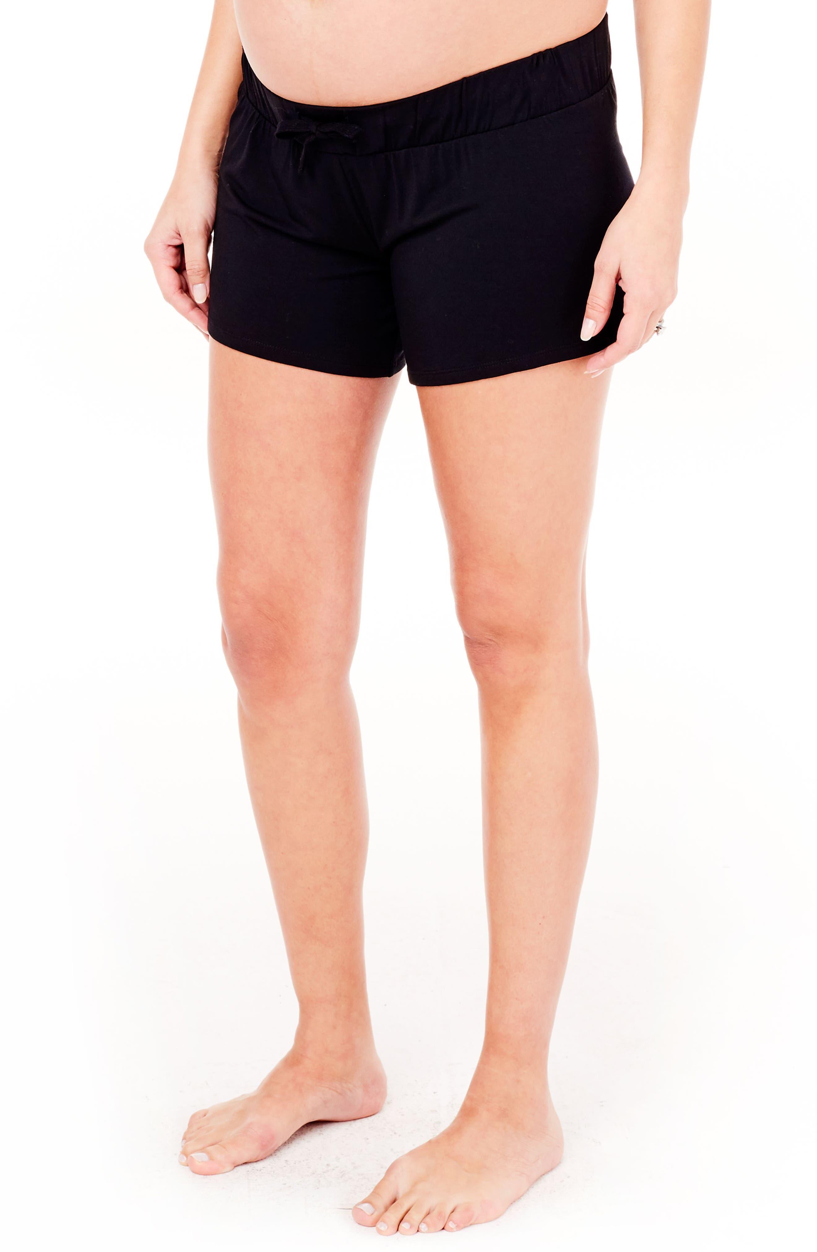 Alternate Image 3  - Ingrid & Isabel® Maternity Lounge Shorts