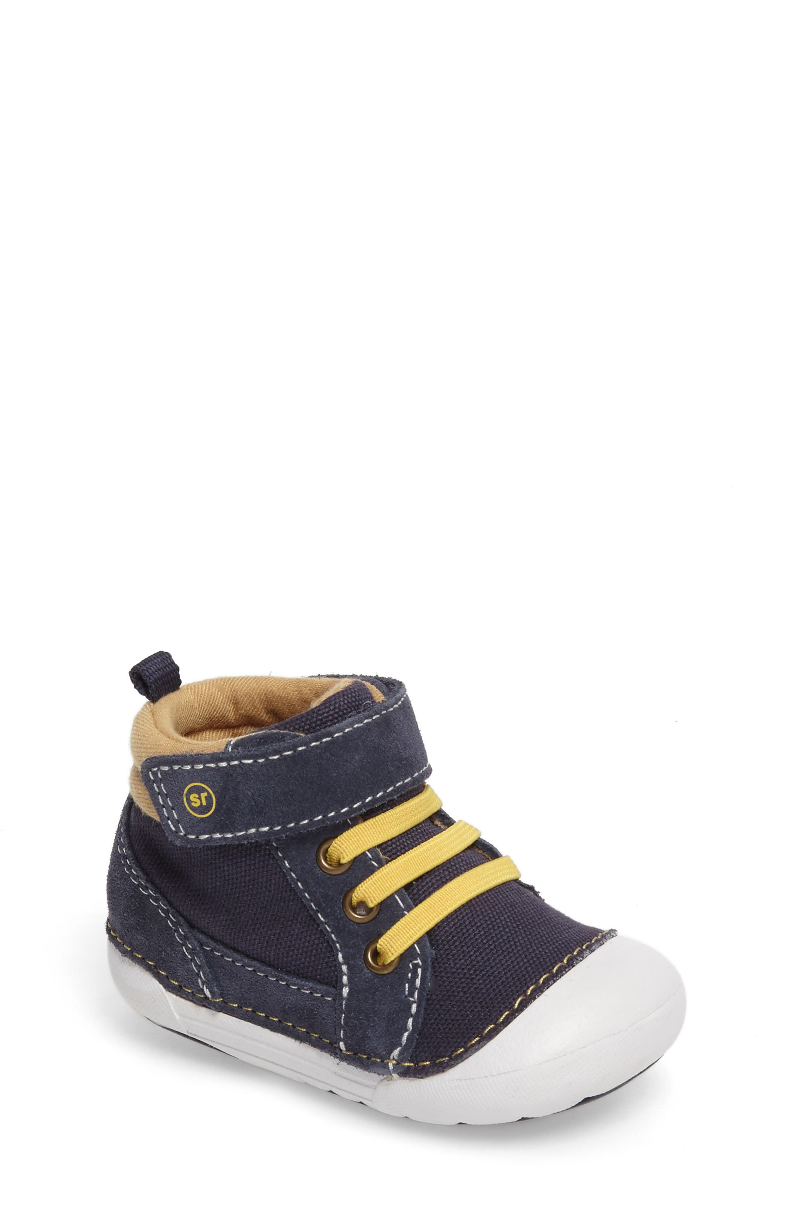 Soft Motion Danny Sneaker,                         Main,                         color, Navy