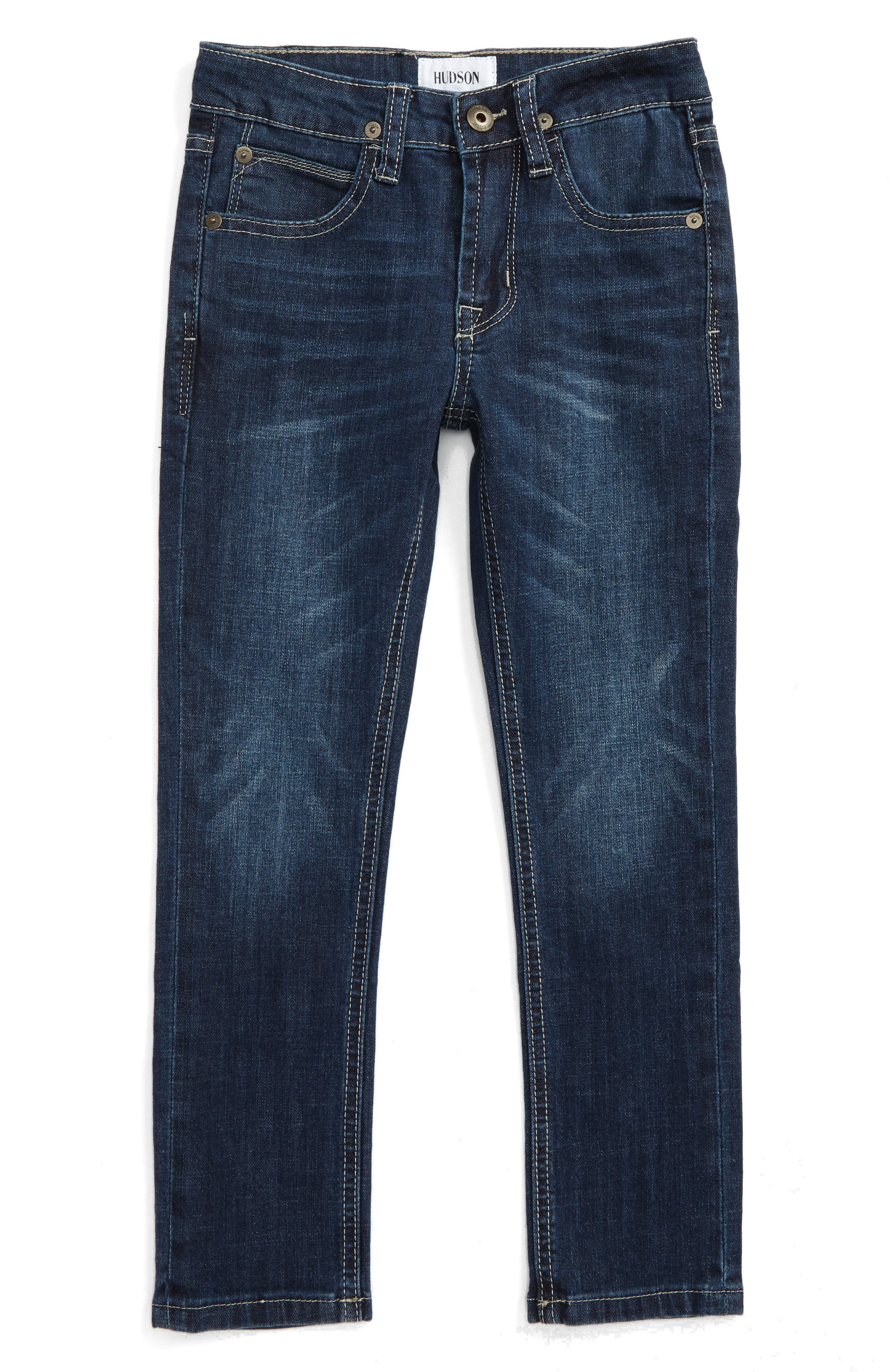 Hudson Kids Jude Slim Straight Leg Jeans (Toddler Boys & Little Boys)