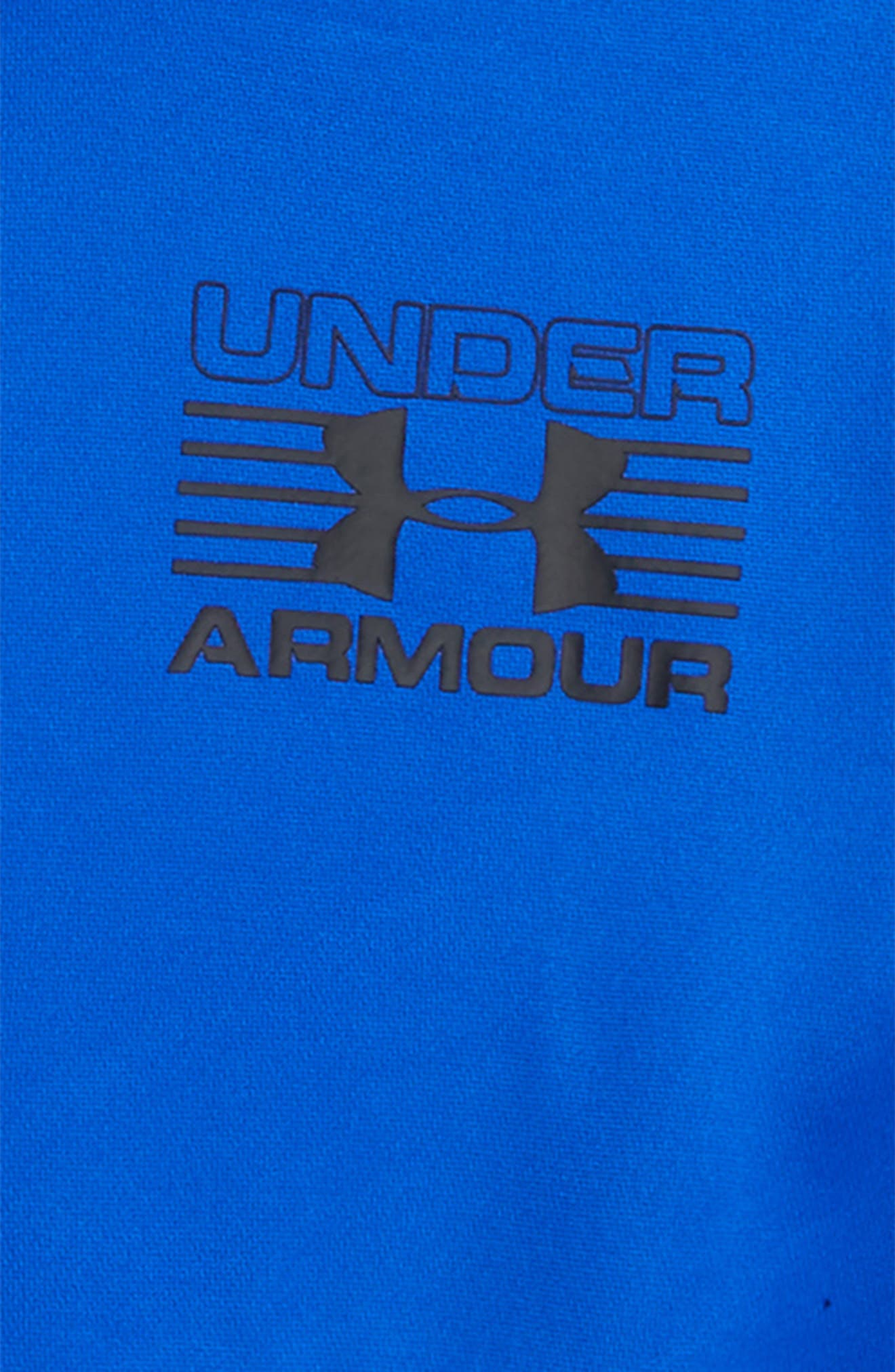 Alternate Image 2  - Under Armour Train to Game Layered ColdGear® Hoodie (Little Boys & Big Boys)
