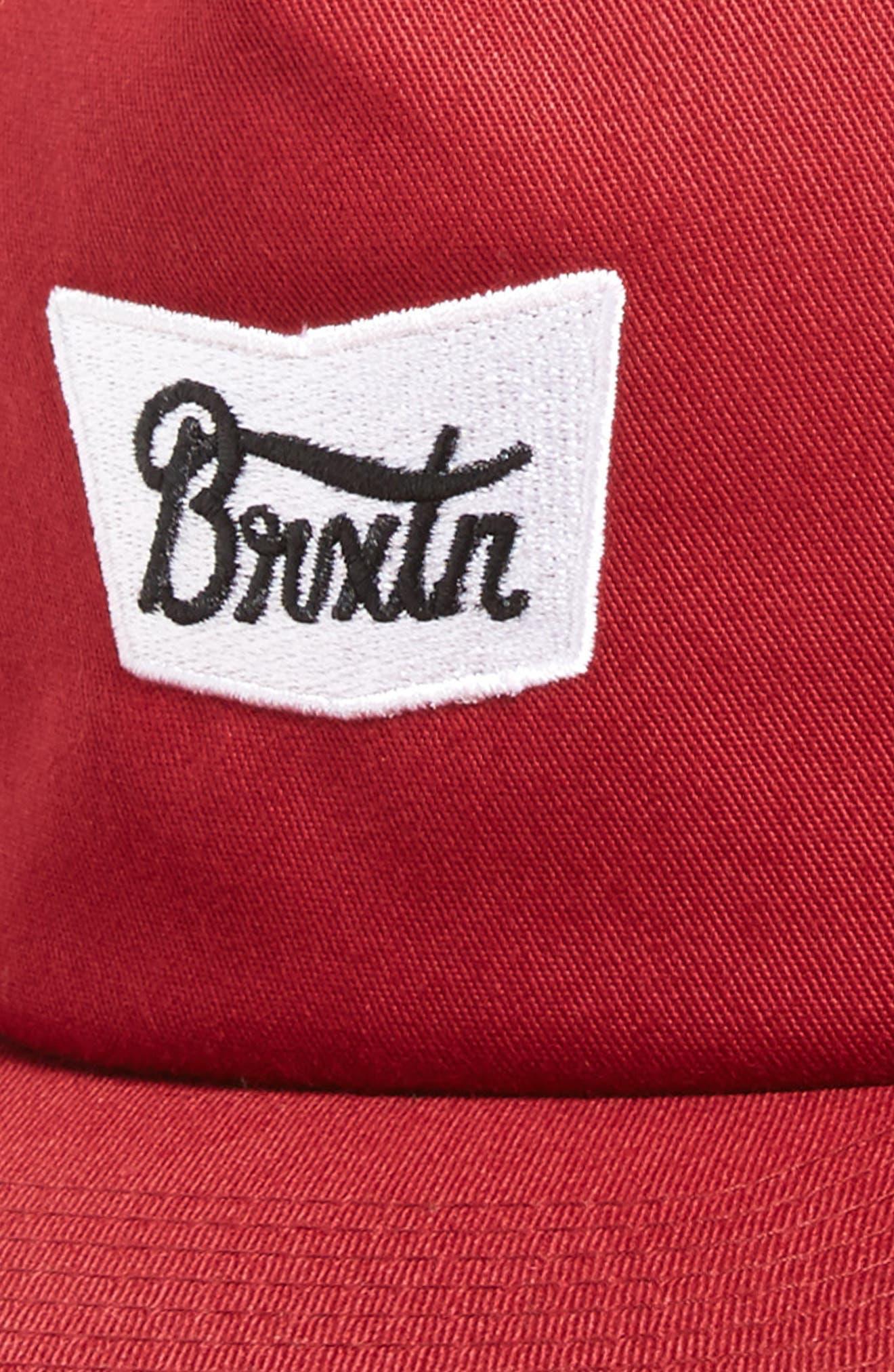 Alternate Image 3  - Brixton Snapback Baseball Cap