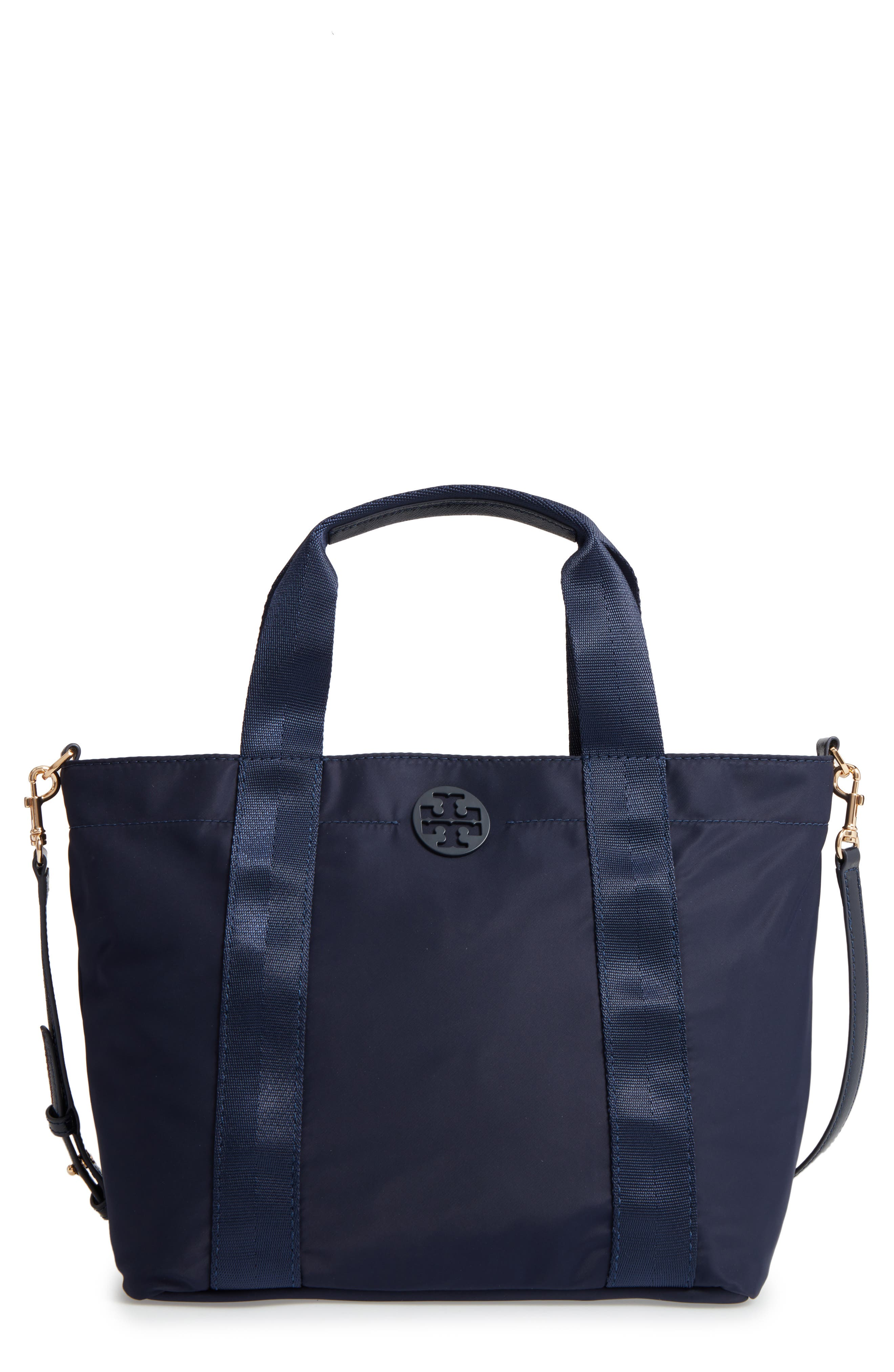 Alternate Image 1 Selected - Tory Burch Small Quinn Nylon Tote