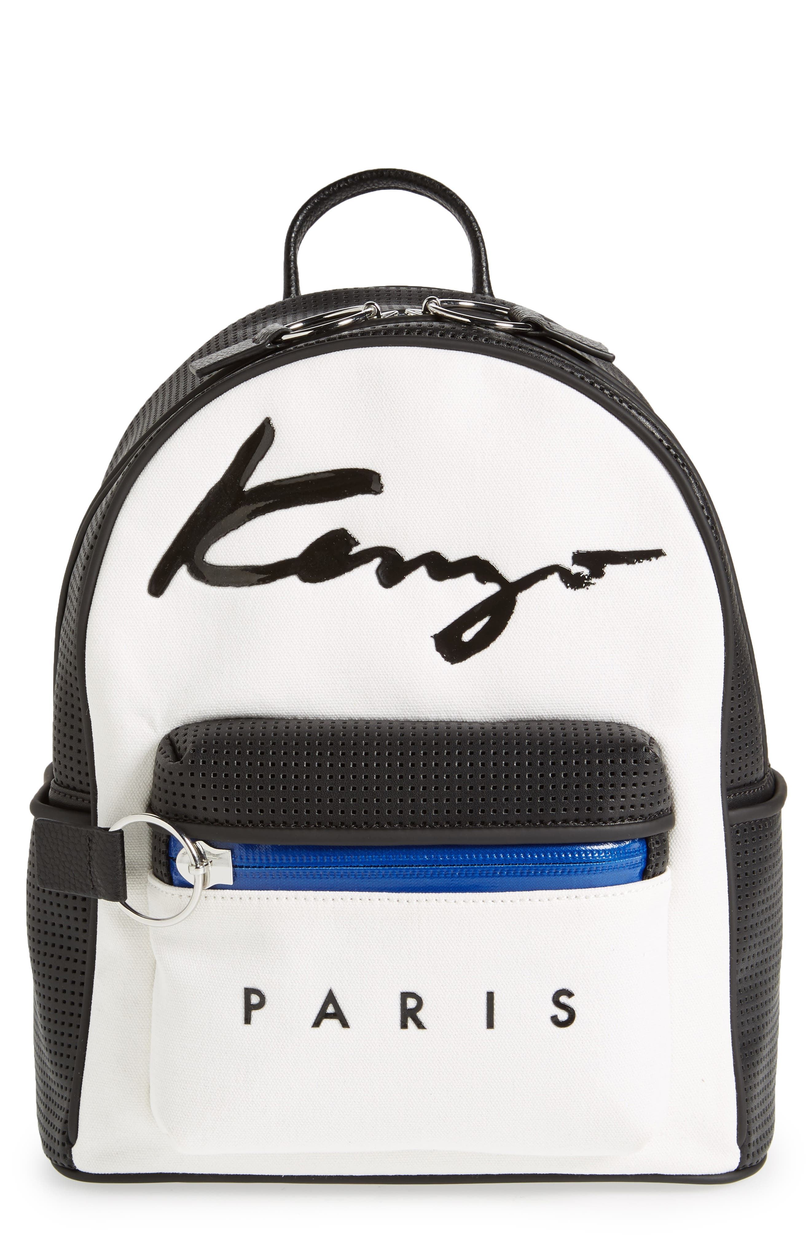 Signature Backpack,                         Main,                         color, White