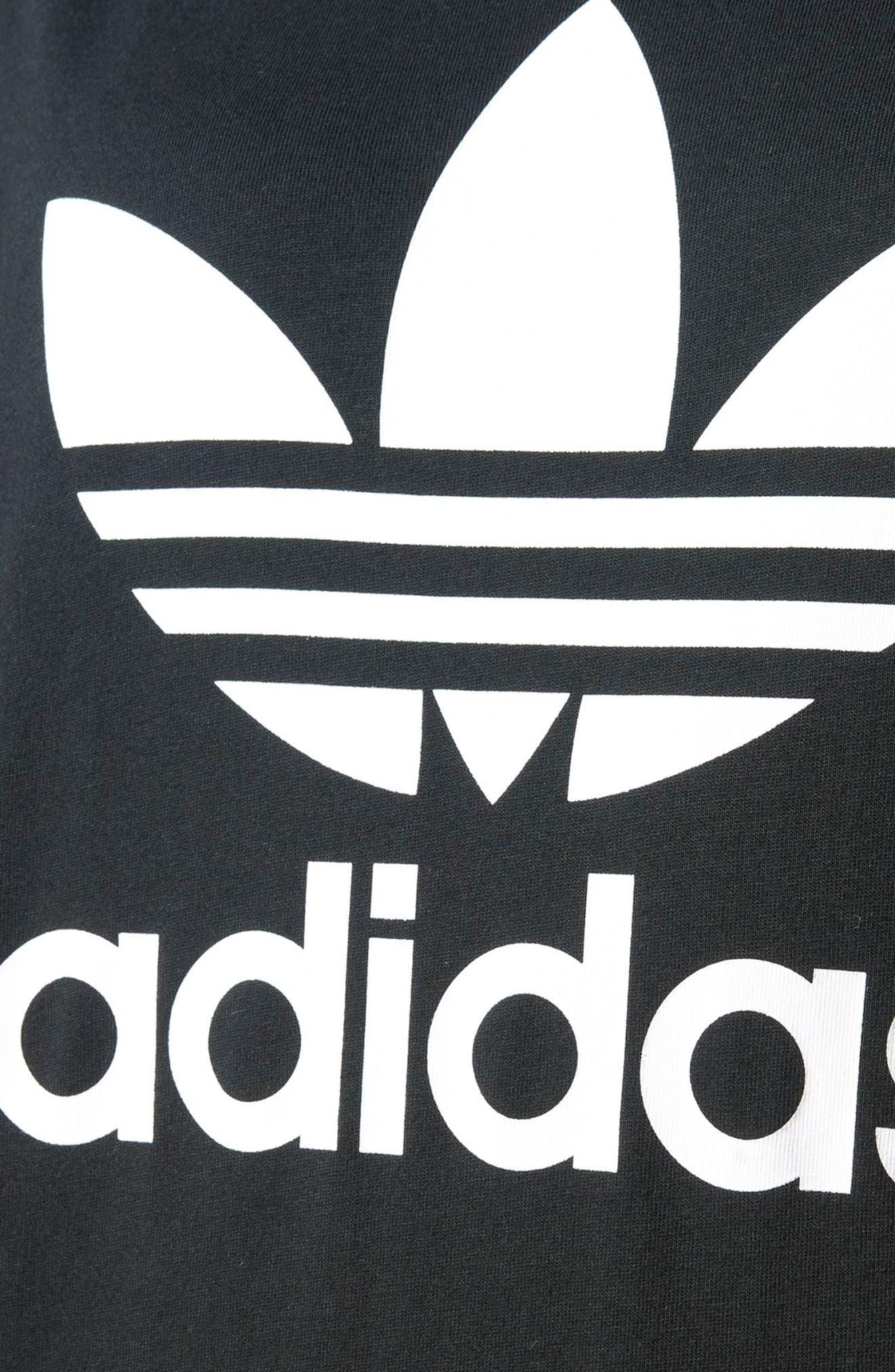 Alternate Image 5  - adidas Trefoil Logo T-Shirt Dress
