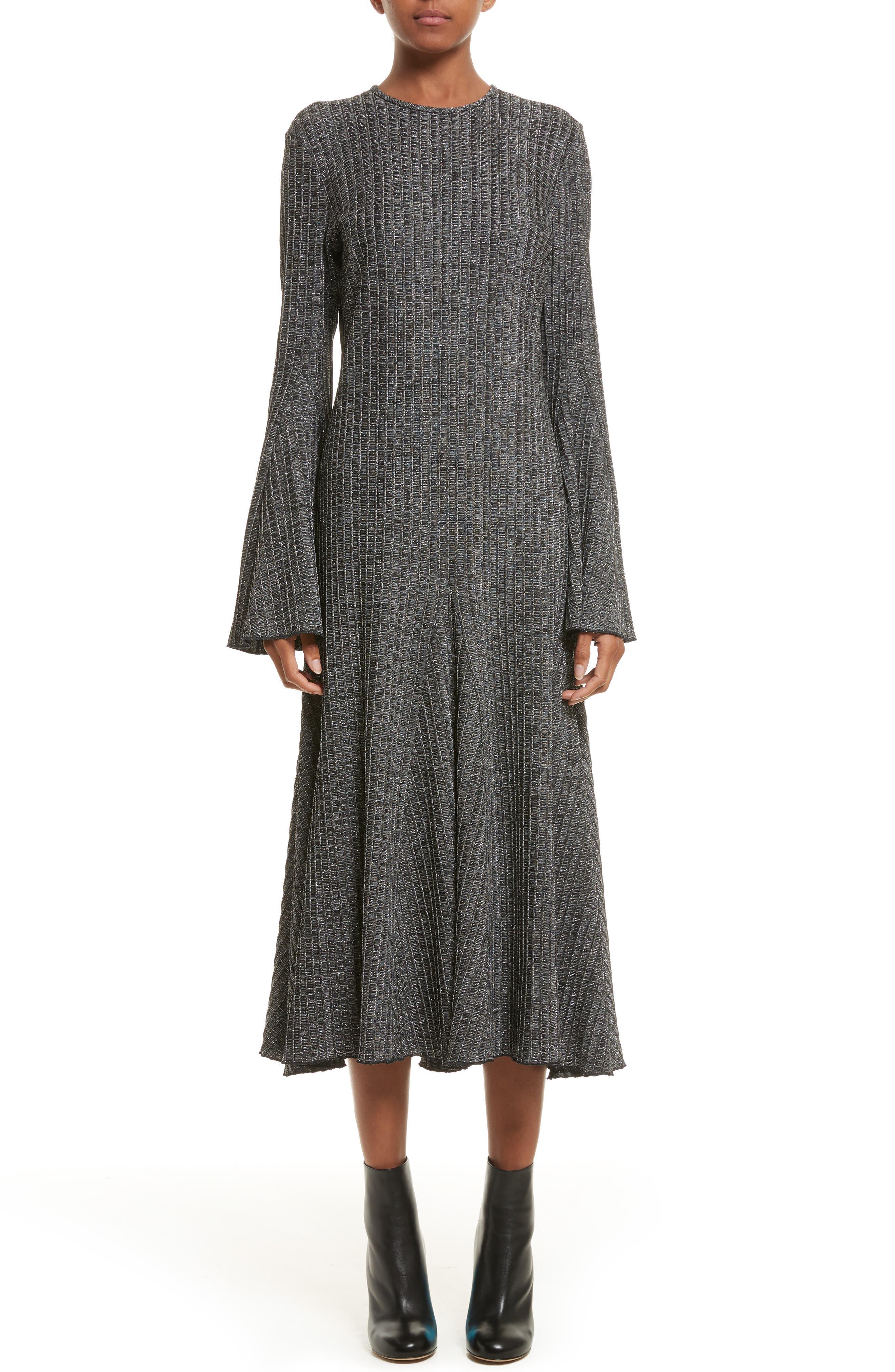 ELLERY Conrad Godet Hem Dress