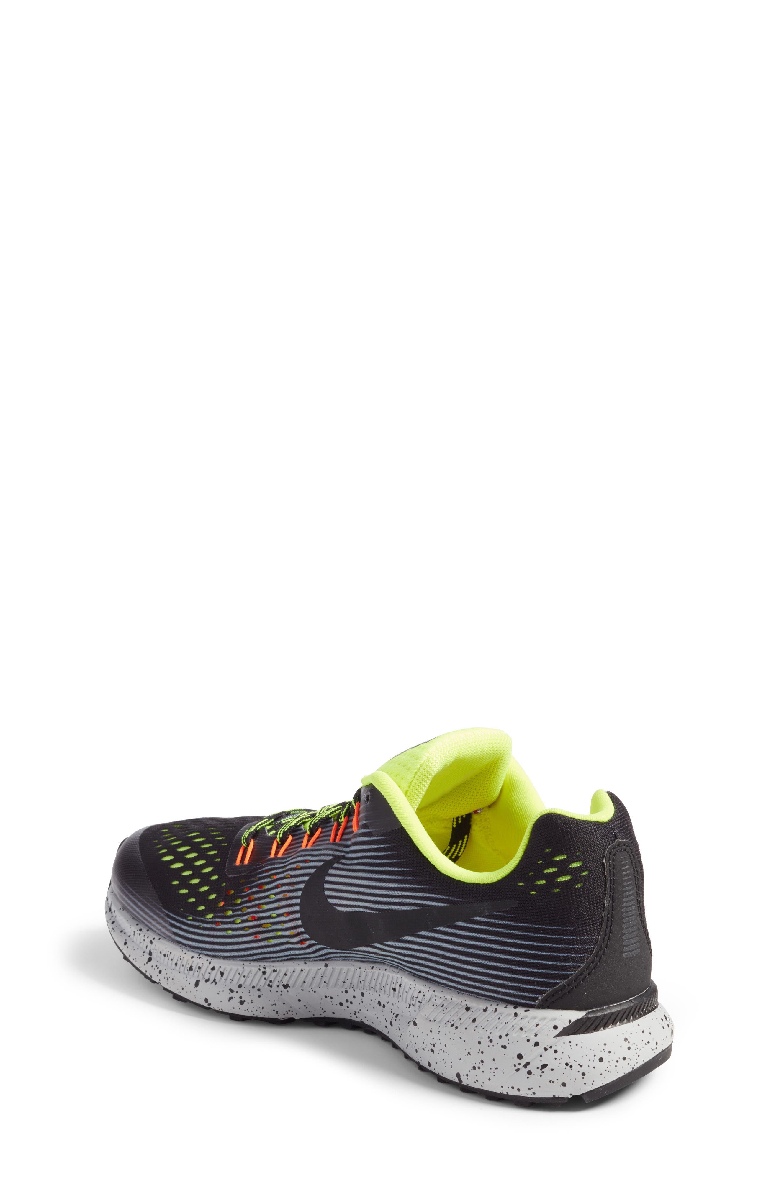 Alternate Image 2  - Nike Zoom Pegasus 34 Shield GS Sneaker (Little Kid & Big Kid)