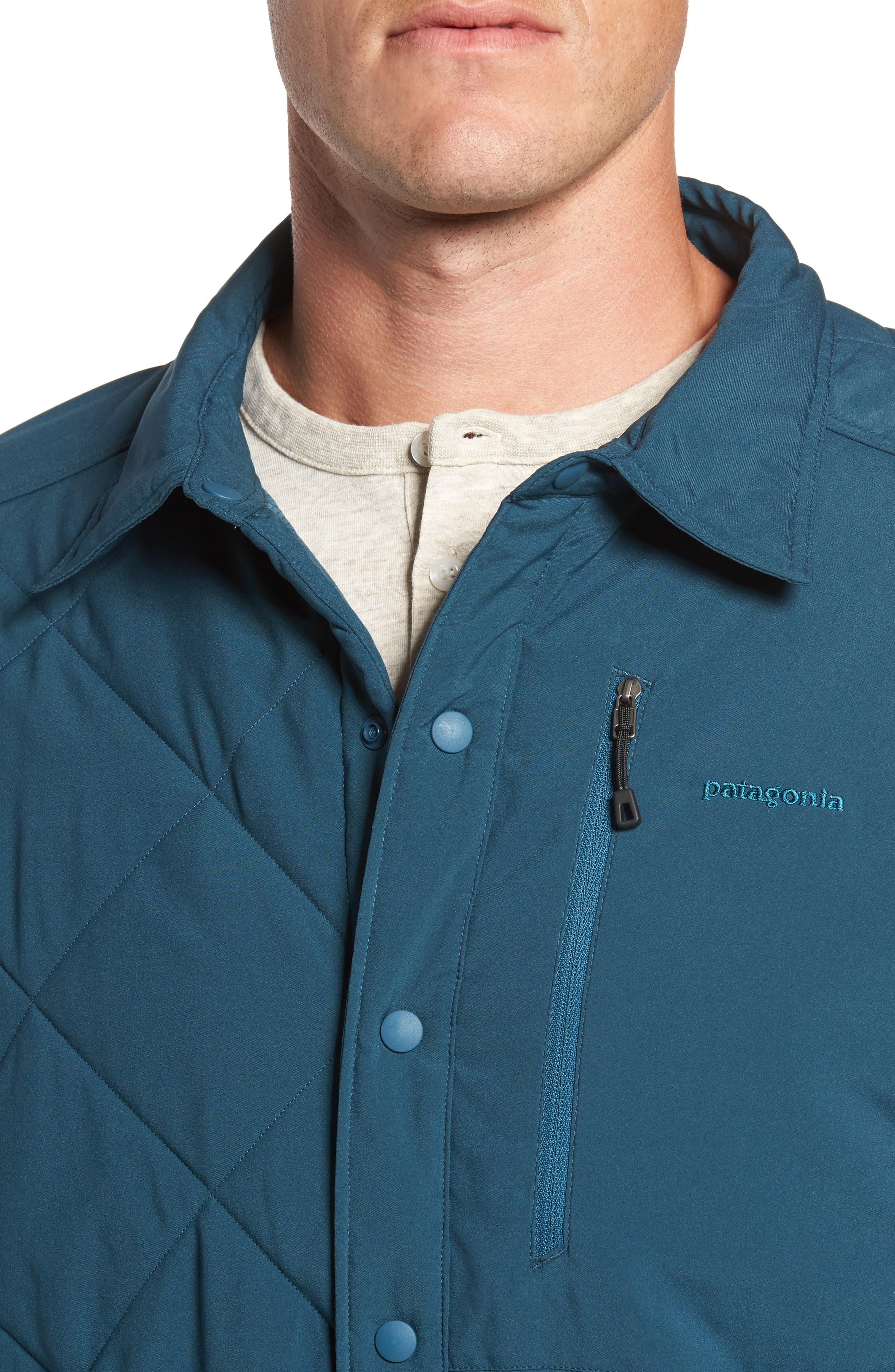 Alternate Image 4  - Patagonia Tough Puff Shirt Jacket