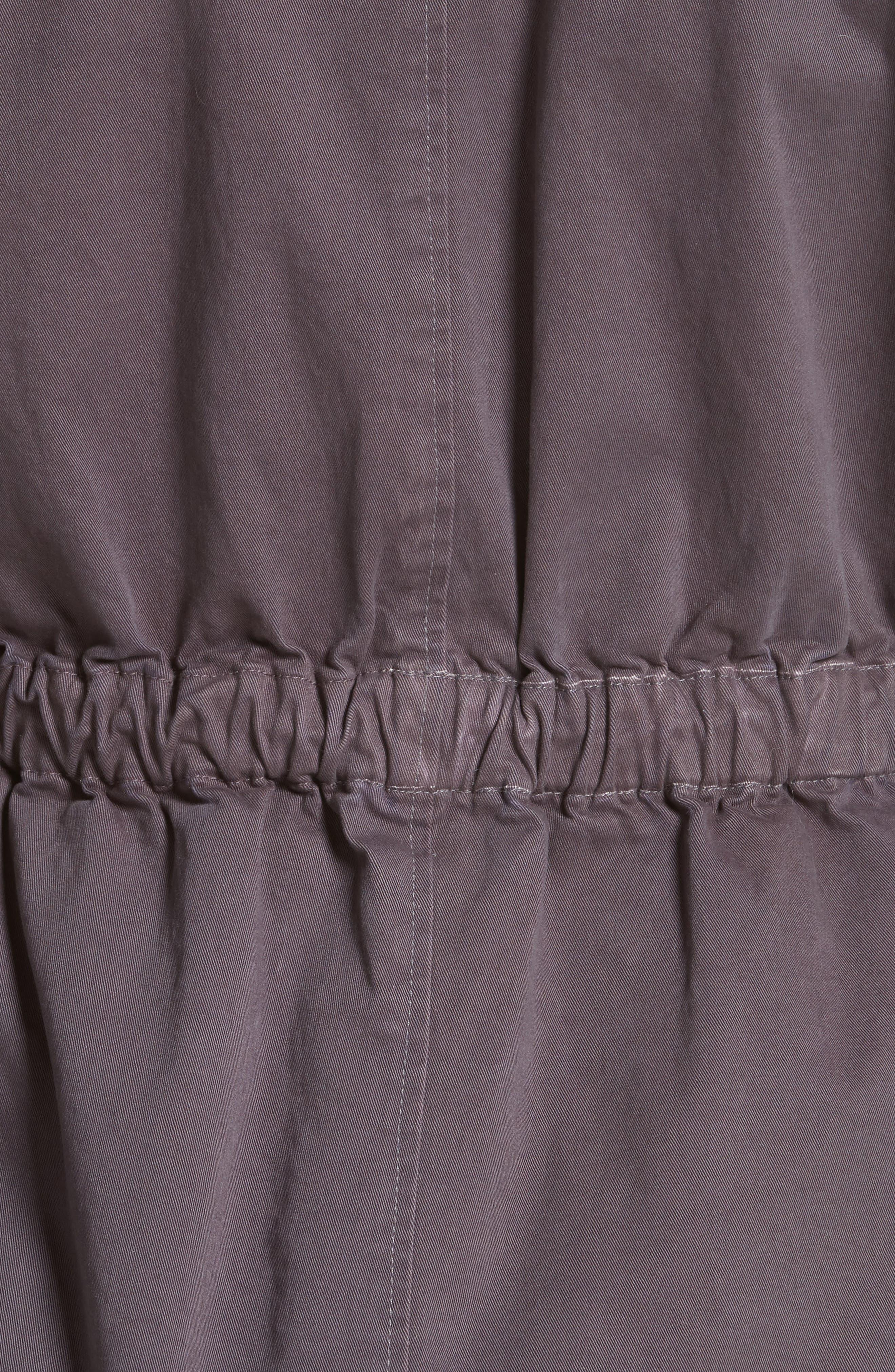 Twill Utility Jacket,                             Alternate thumbnail 5, color,                             Shadow