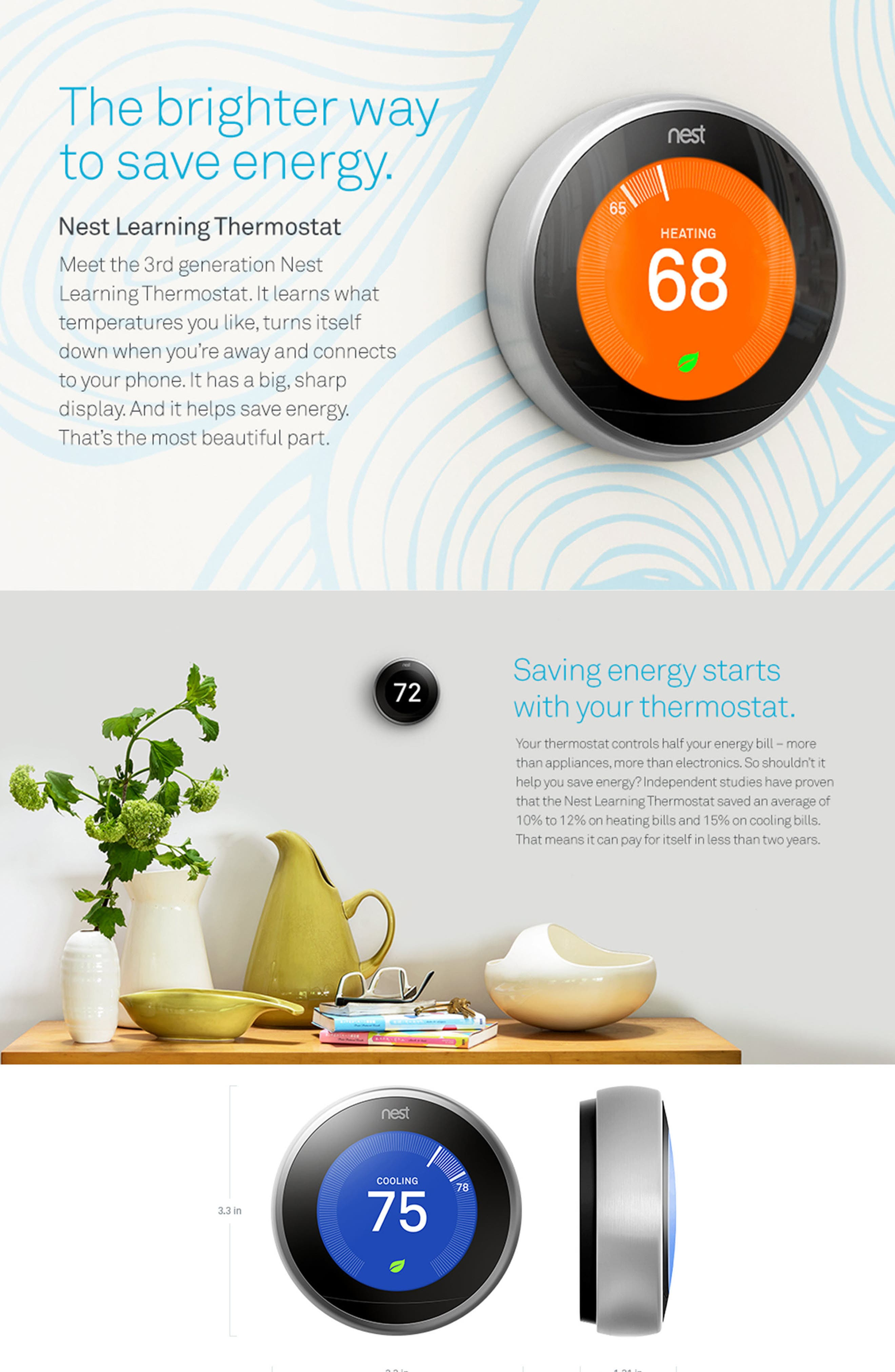 Alternate Image 5  - Nest Learning Thermostat