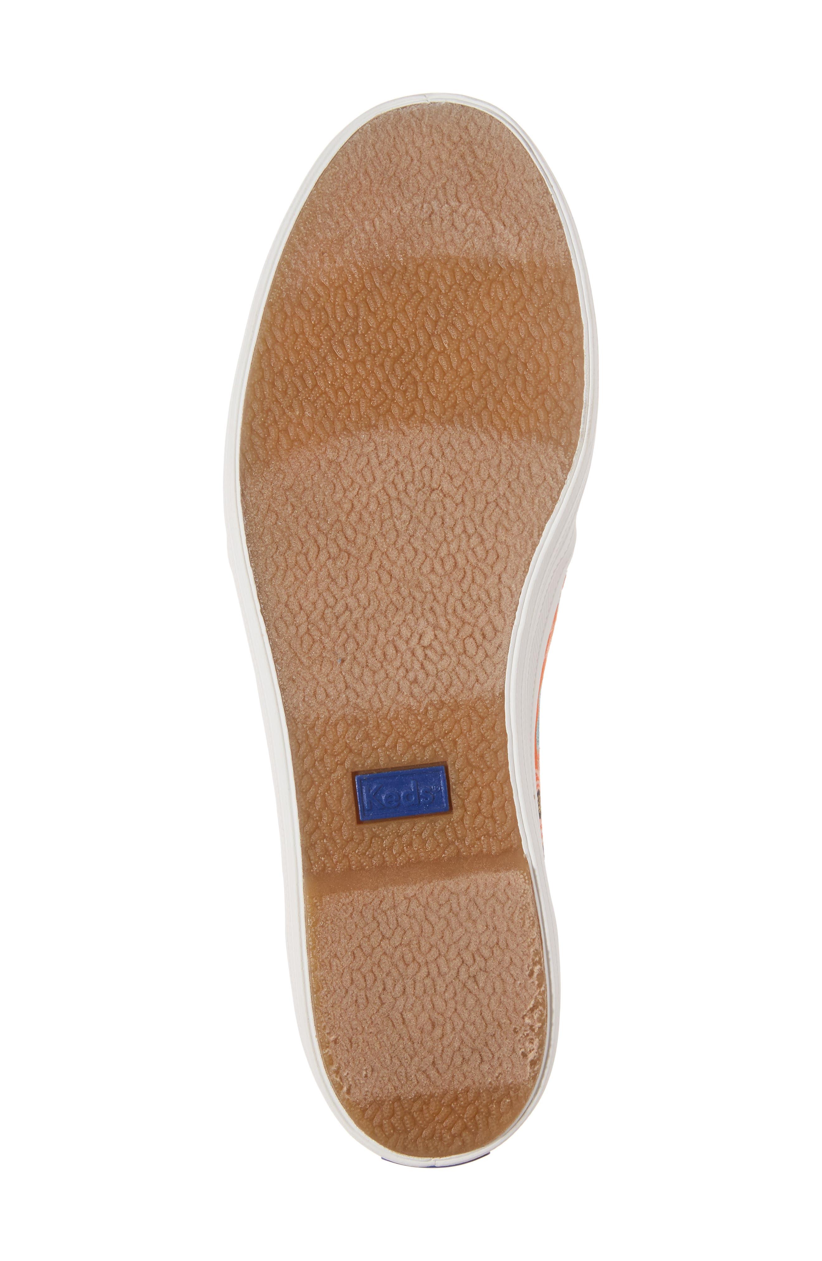 Alternate Image 6  - Keds® x Rifle Paper Co. Birch Triple Decker Slip-On Sneaker (Women)