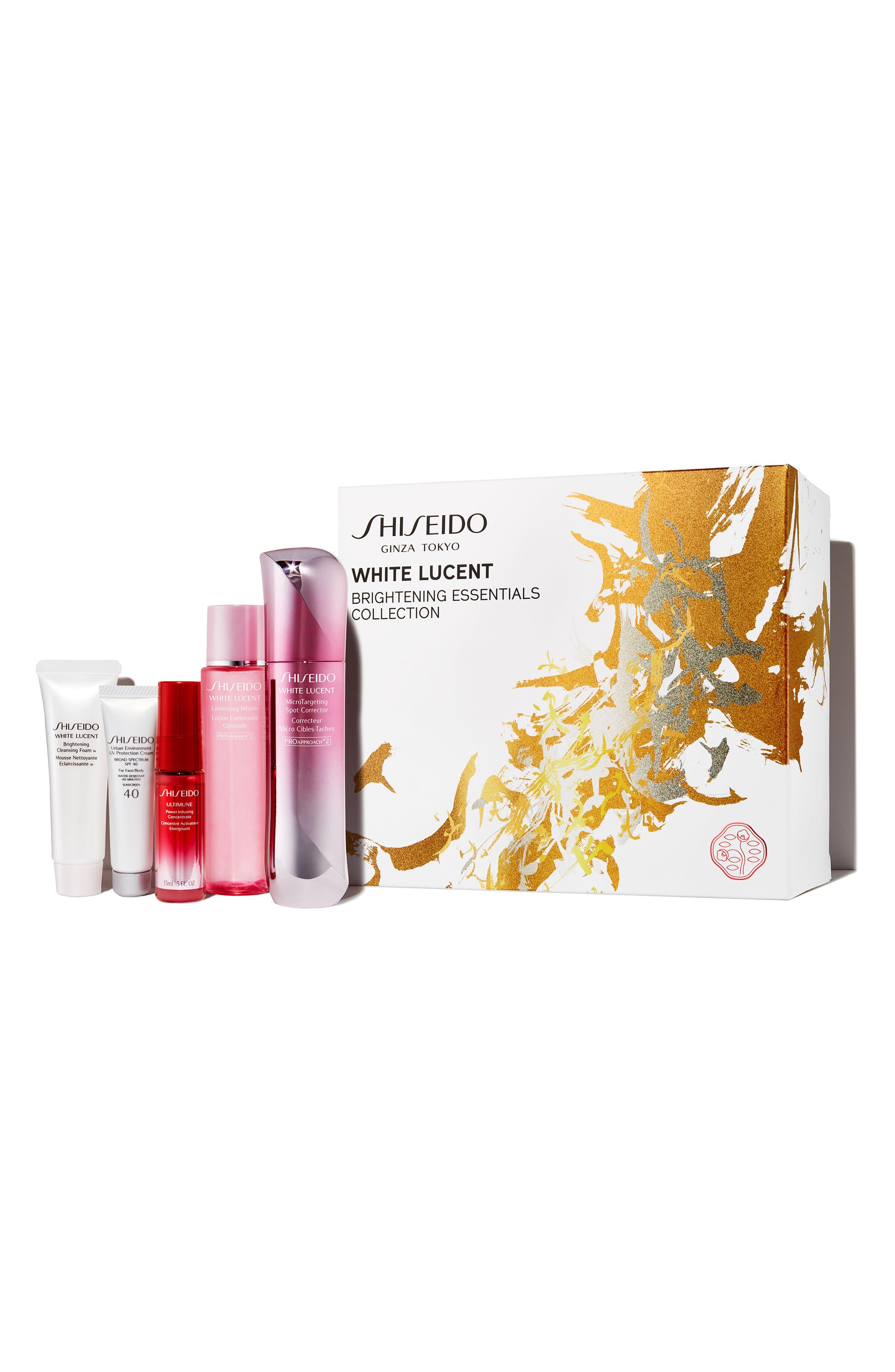 Shiseido Brightening Essentials Collection ($255 Value)