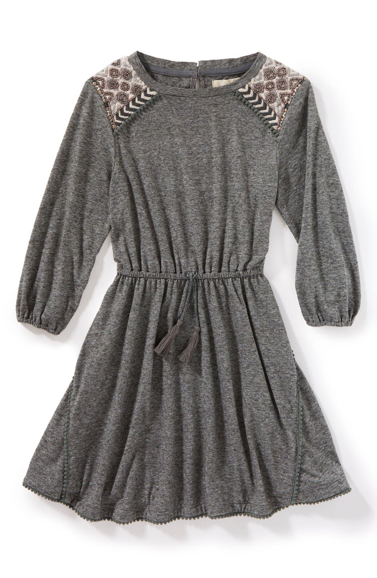 Lauren Dress,                             Main thumbnail 1, color,                             Charcoal