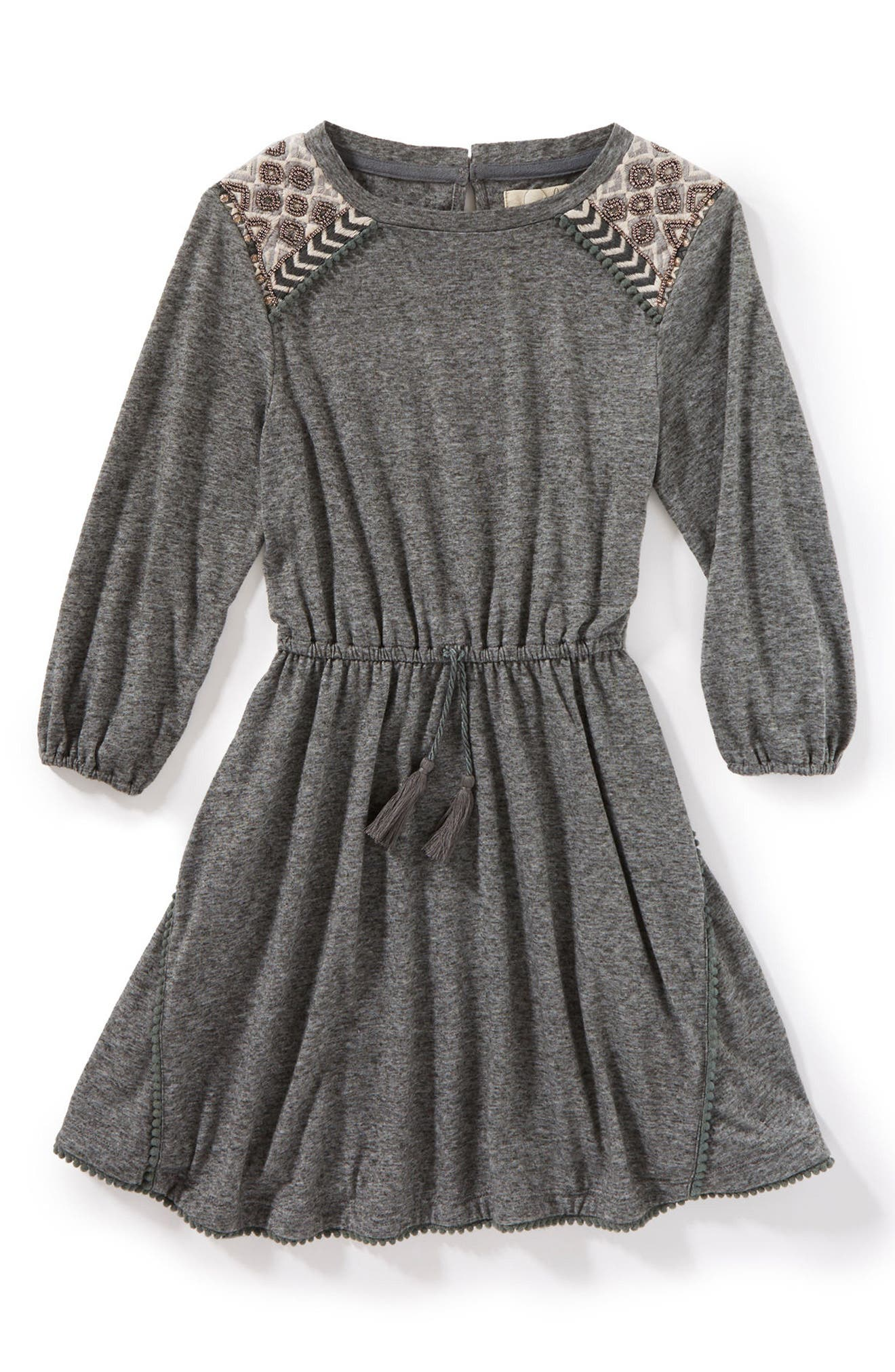 Lauren Dress,                         Main,                         color, Charcoal