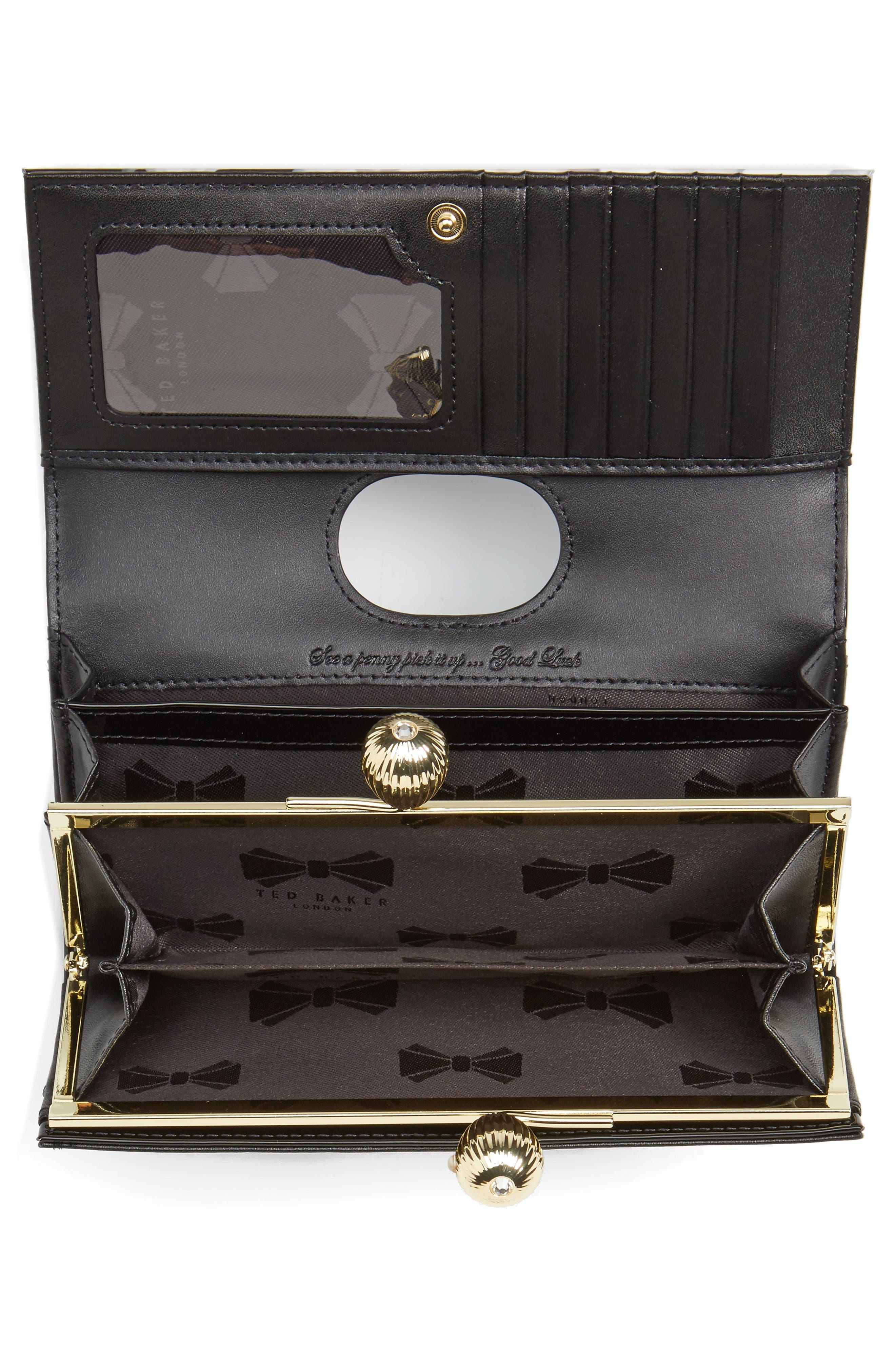 Alternate Image 2  - Ted Baker London Sundayy Chelsea Leather Matinée Wallet