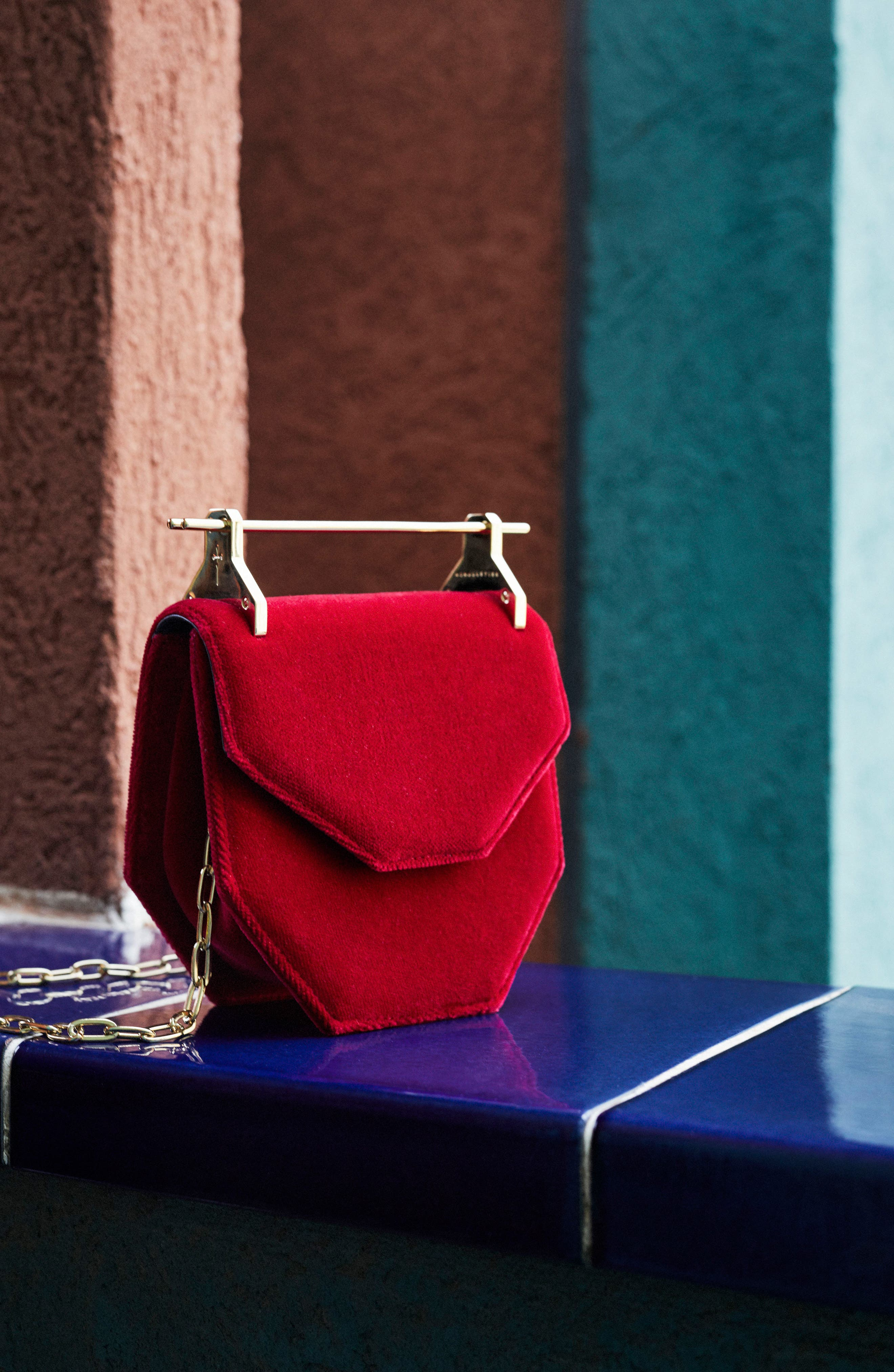 Alternate Image 7  - M2Malletier Mini Amor Fati Velvet Shoulder Bag