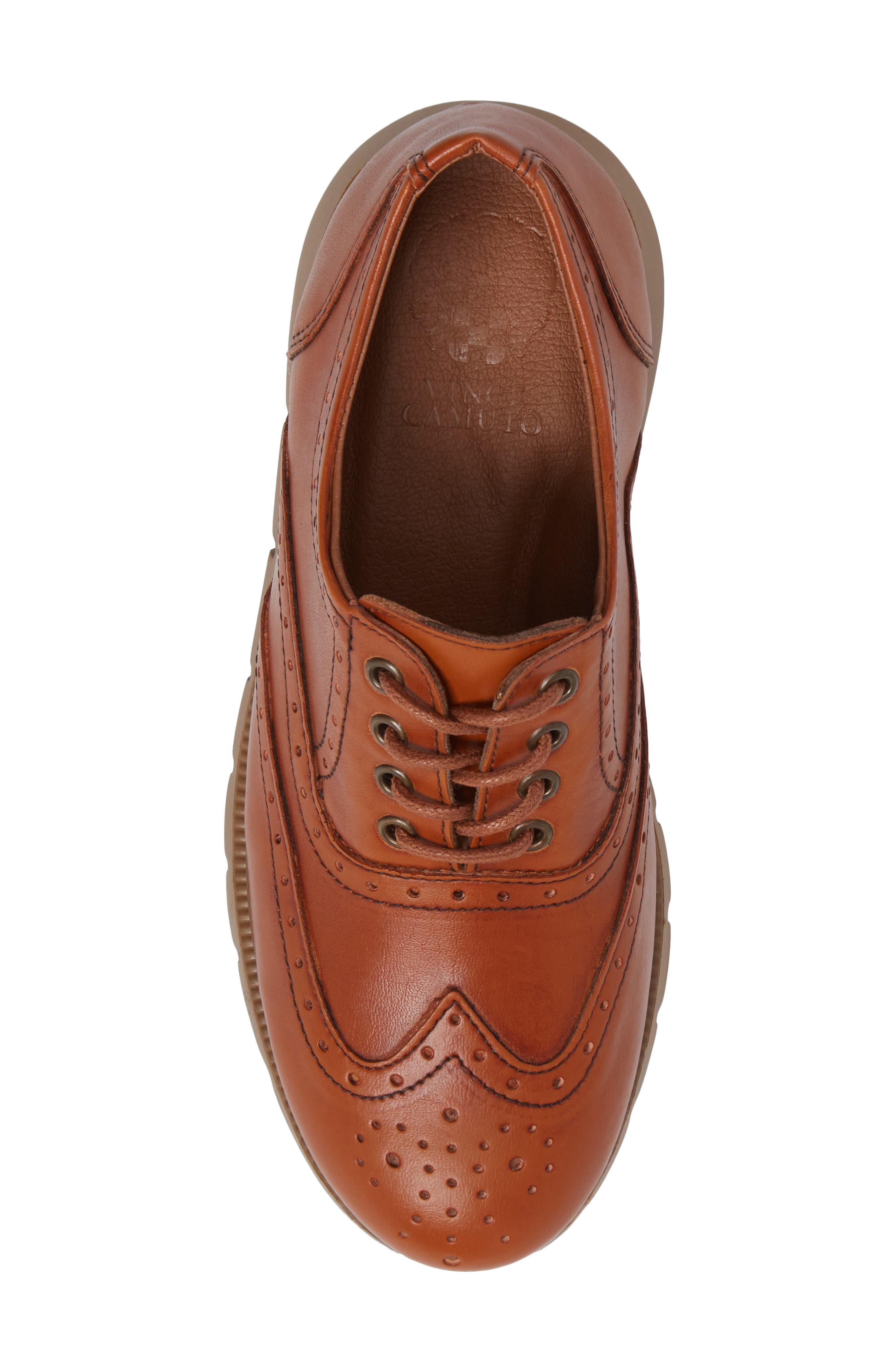 Warble Wingtip Oxford,                             Alternate thumbnail 5, color,                             Naturale