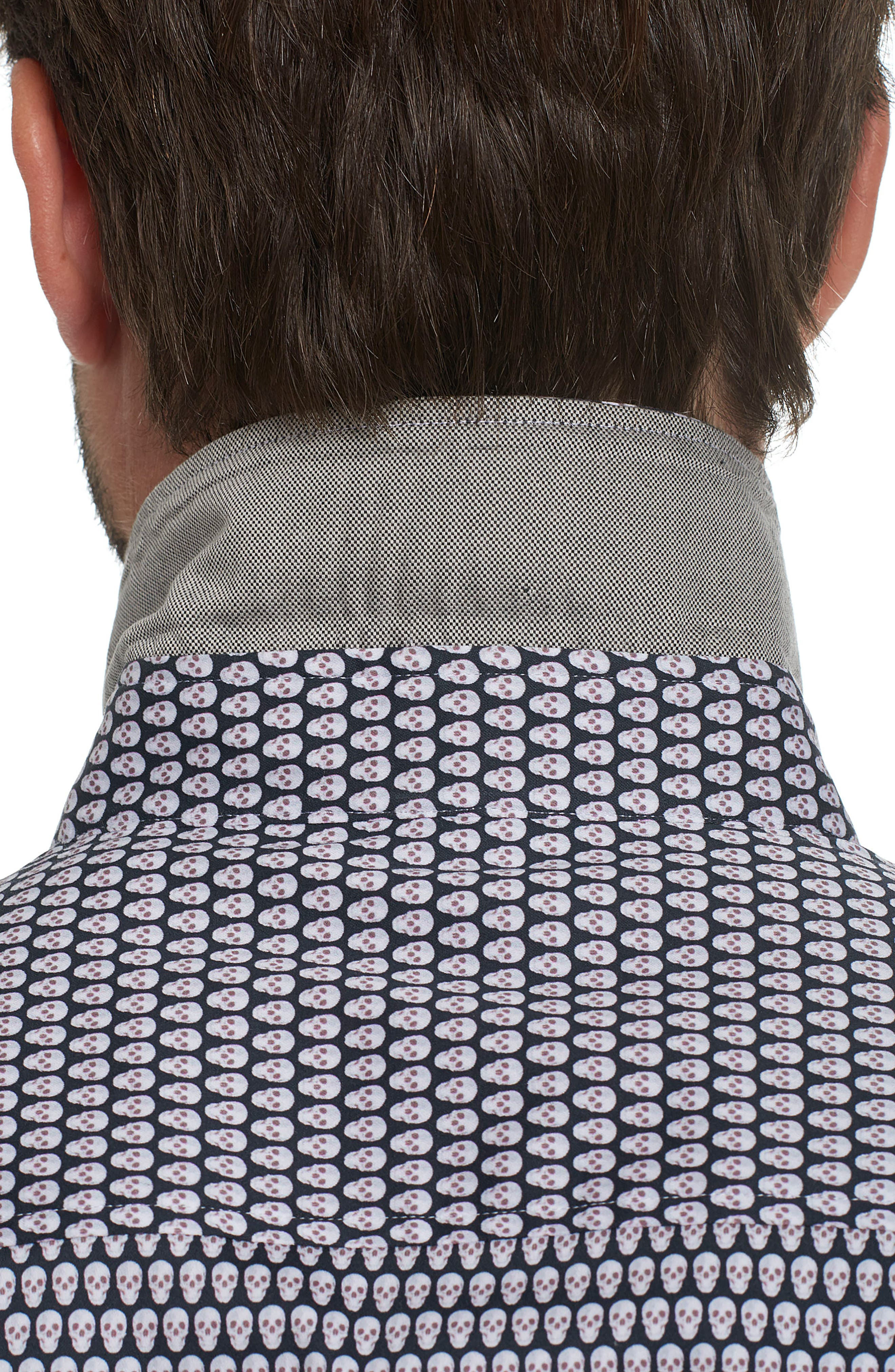 Alternate Image 5  - Robert Graham Weston Woven Sport Shirt