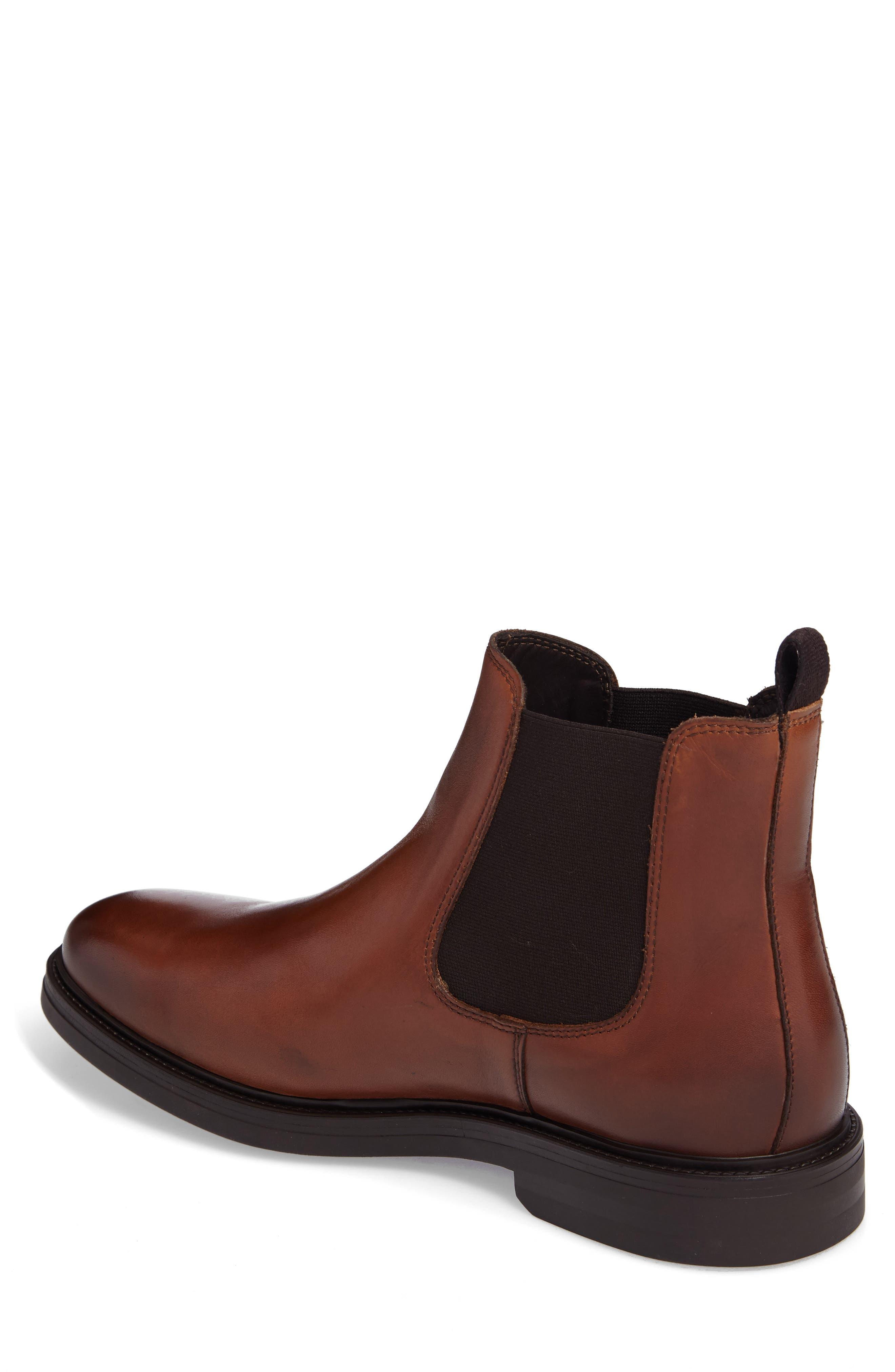 Chelsea Boot,                             Alternate thumbnail 2, color,                             Caramel