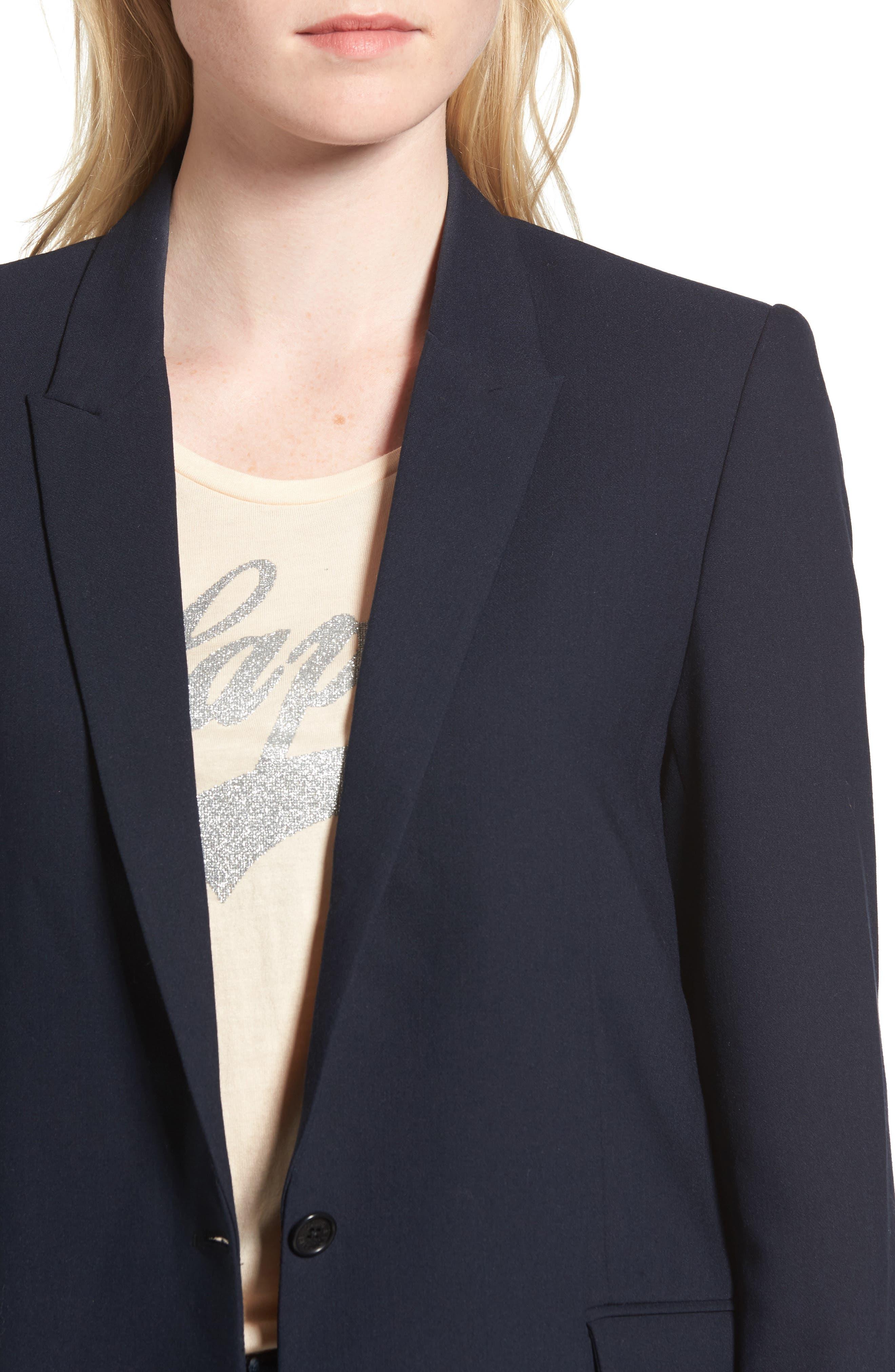 Alternate Image 4  - Zadig & Voltaire Victor Love Bis Studded Jacket
