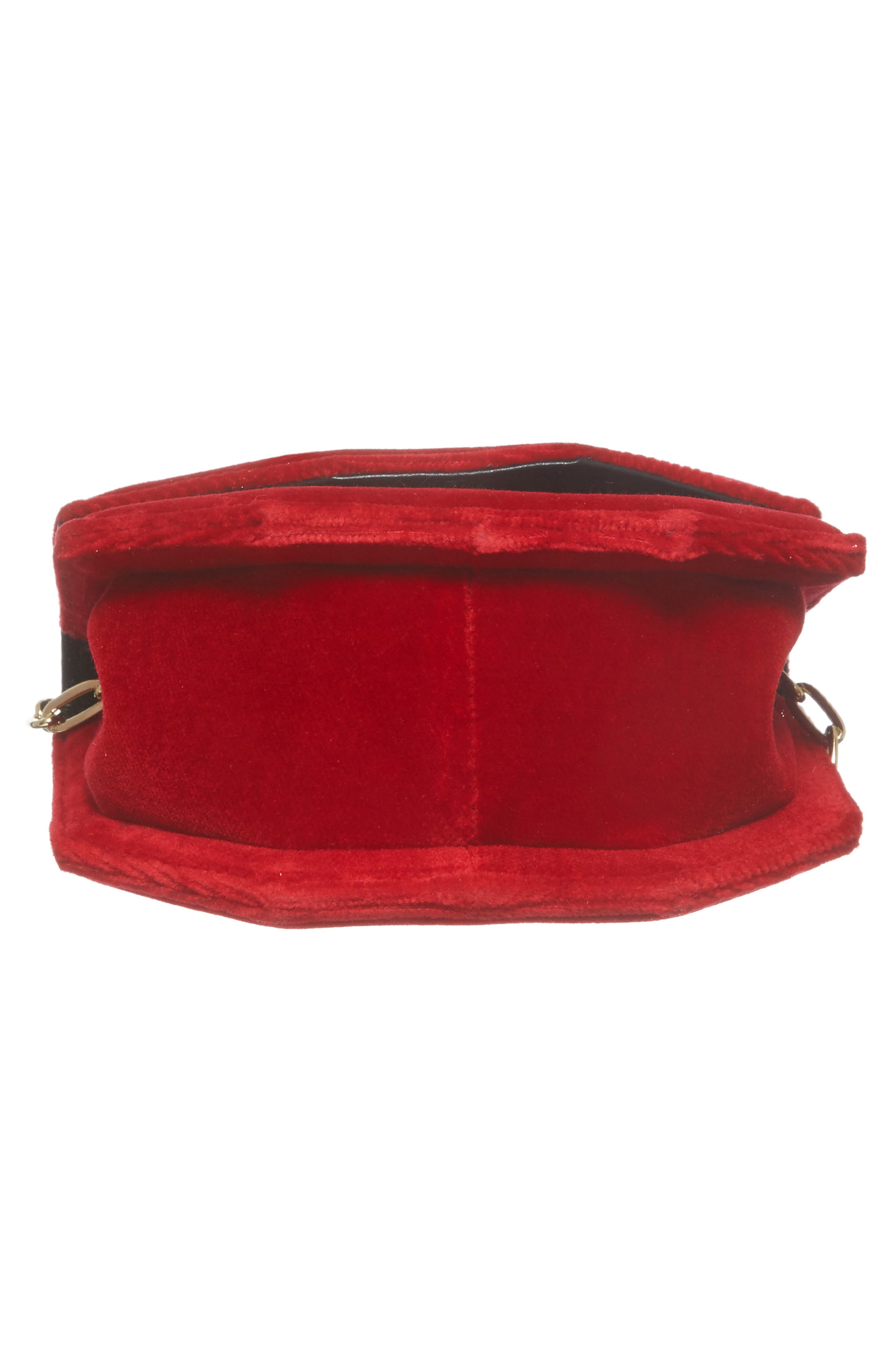 Alternate Image 6  - M2Malletier Mini Amor Fati Velvet Shoulder Bag