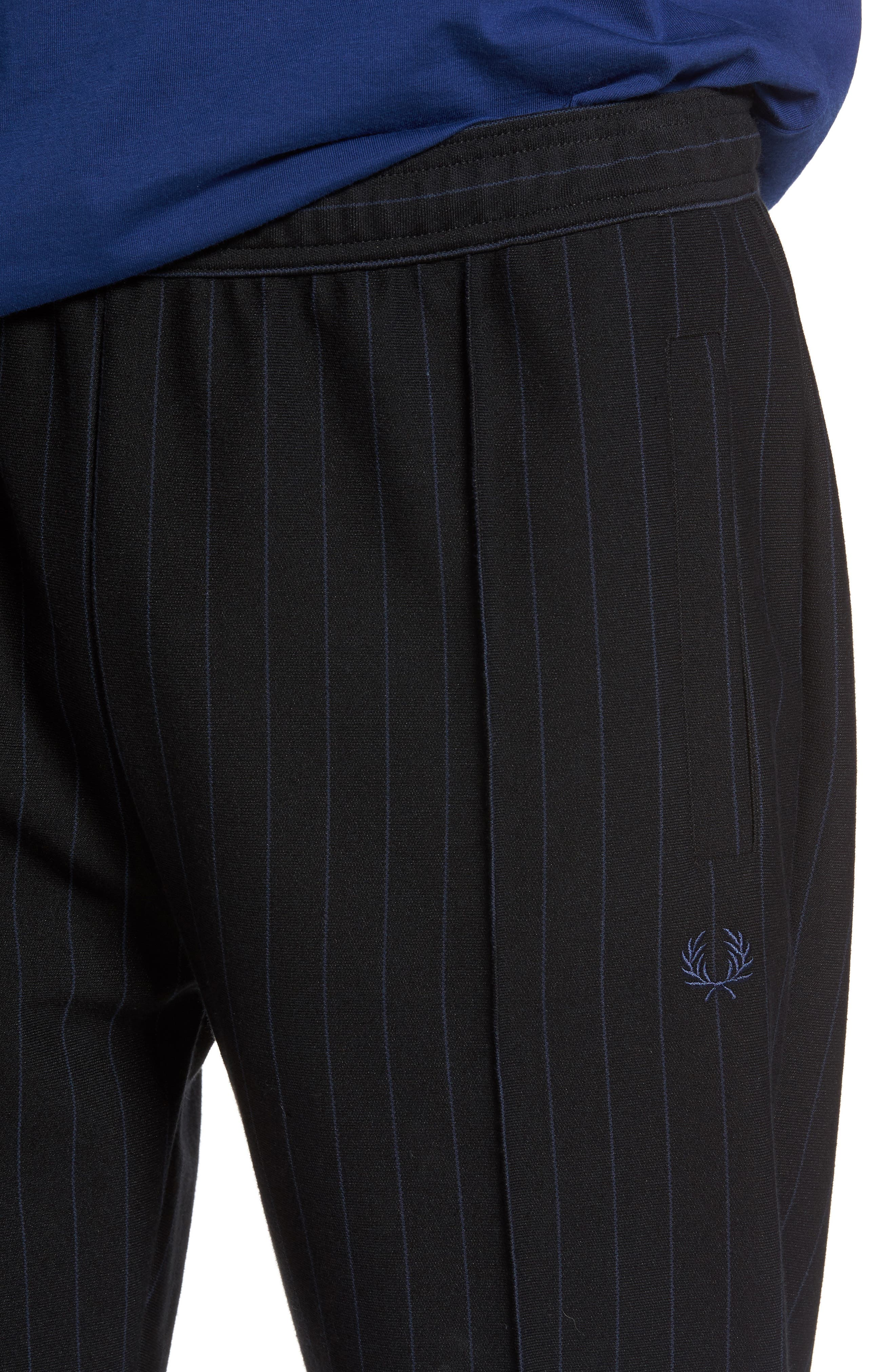 Alternate Image 4  - Fred Perry Pinstripe Jogger Pants