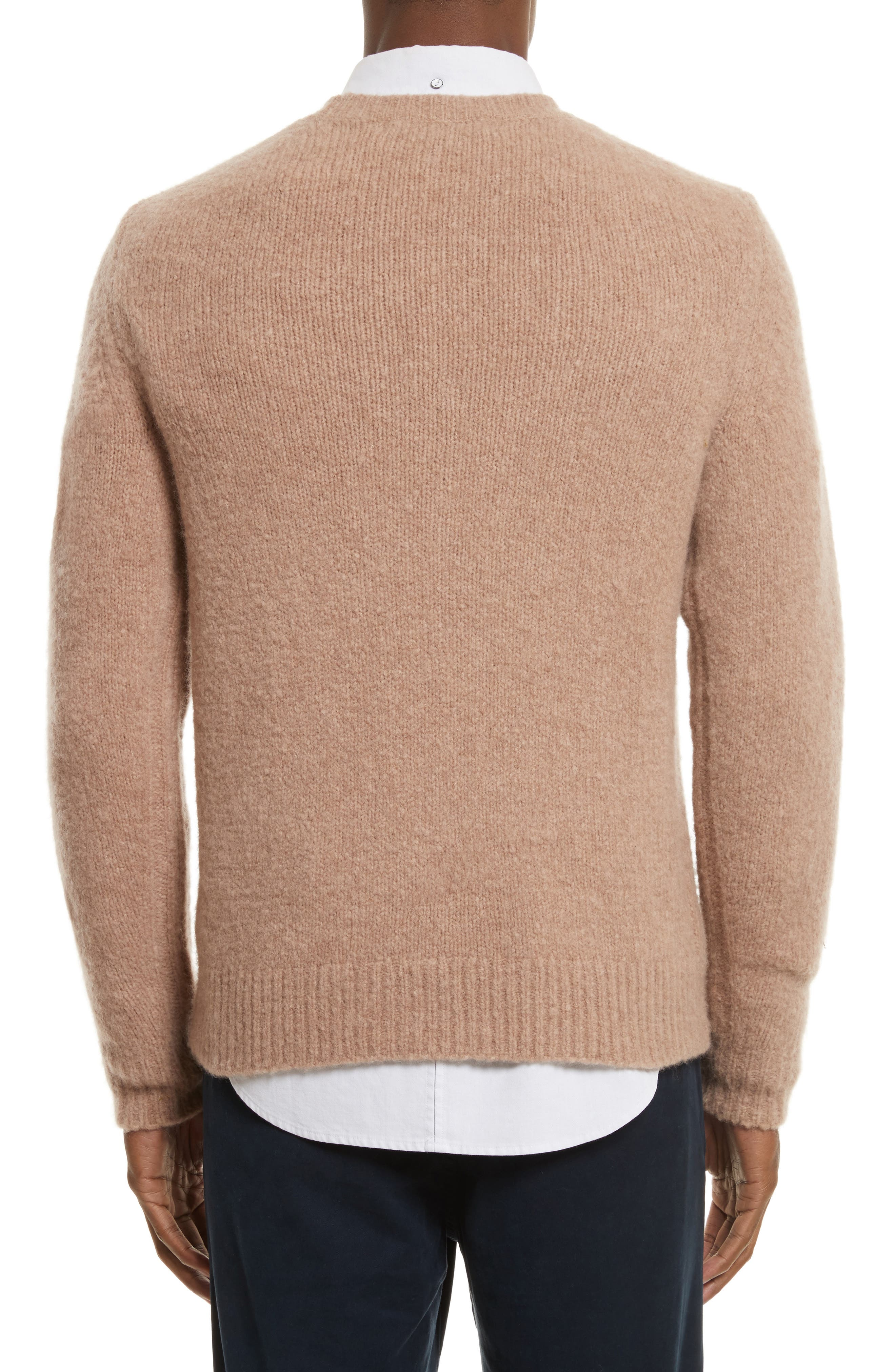 Alternate Image 2  - rag & bone Charles Merino Wool Blend Sweater