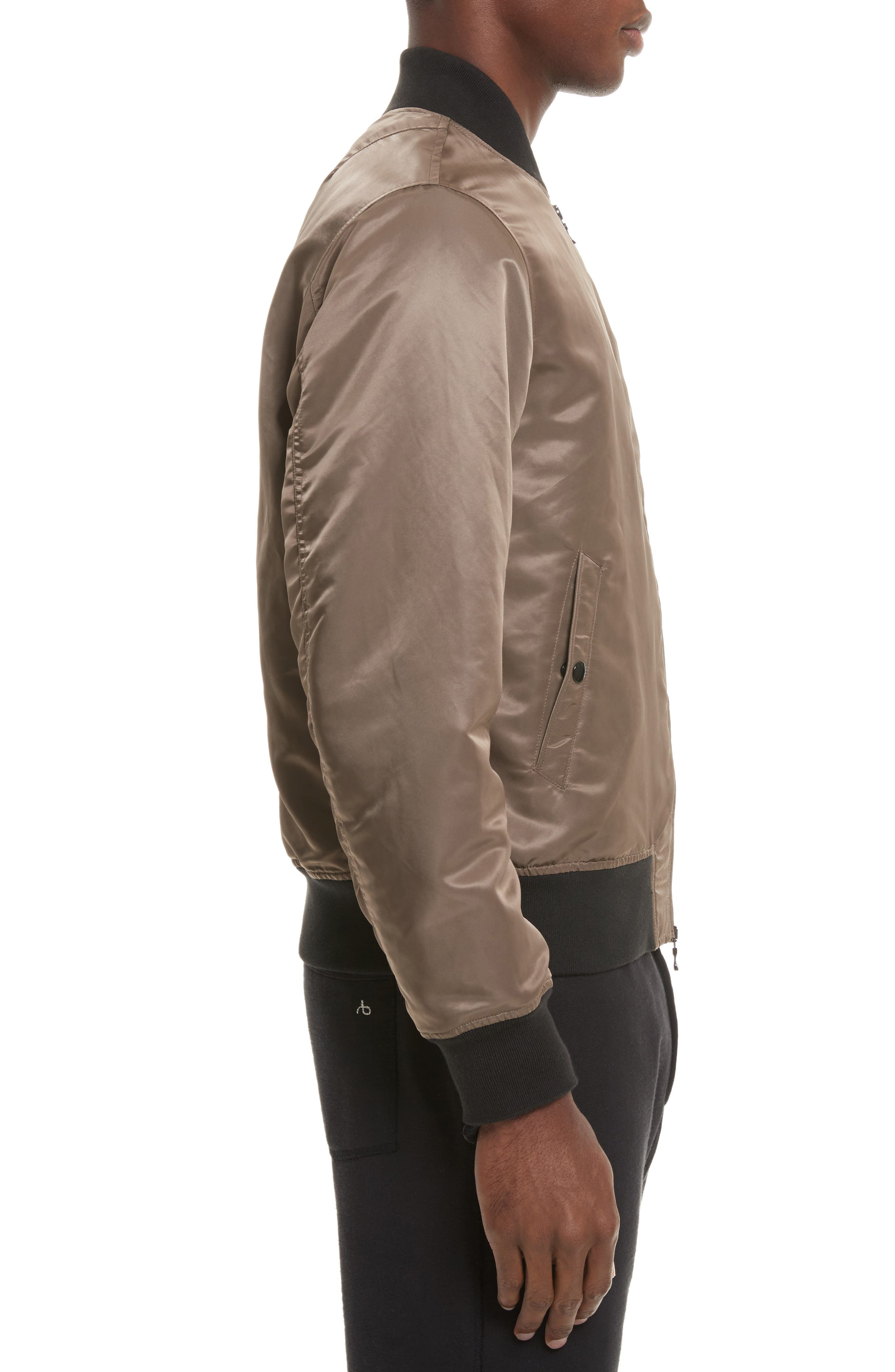 Alternate Image 3  - rag & bone Manston Bomber Jacket