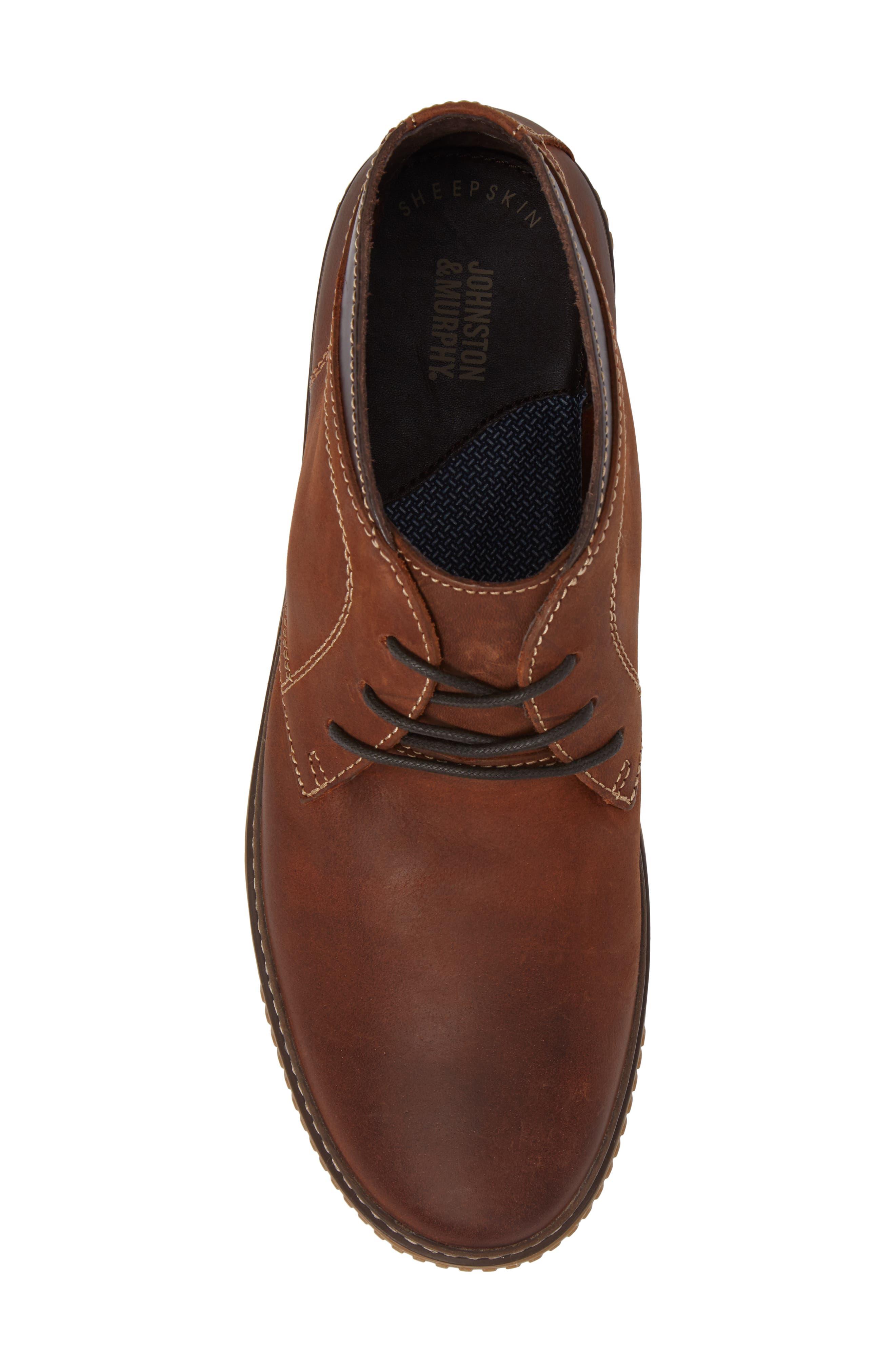 Alternate Image 5  - Johnston & Murphy 'Wallace' Chukka Boot (Men)