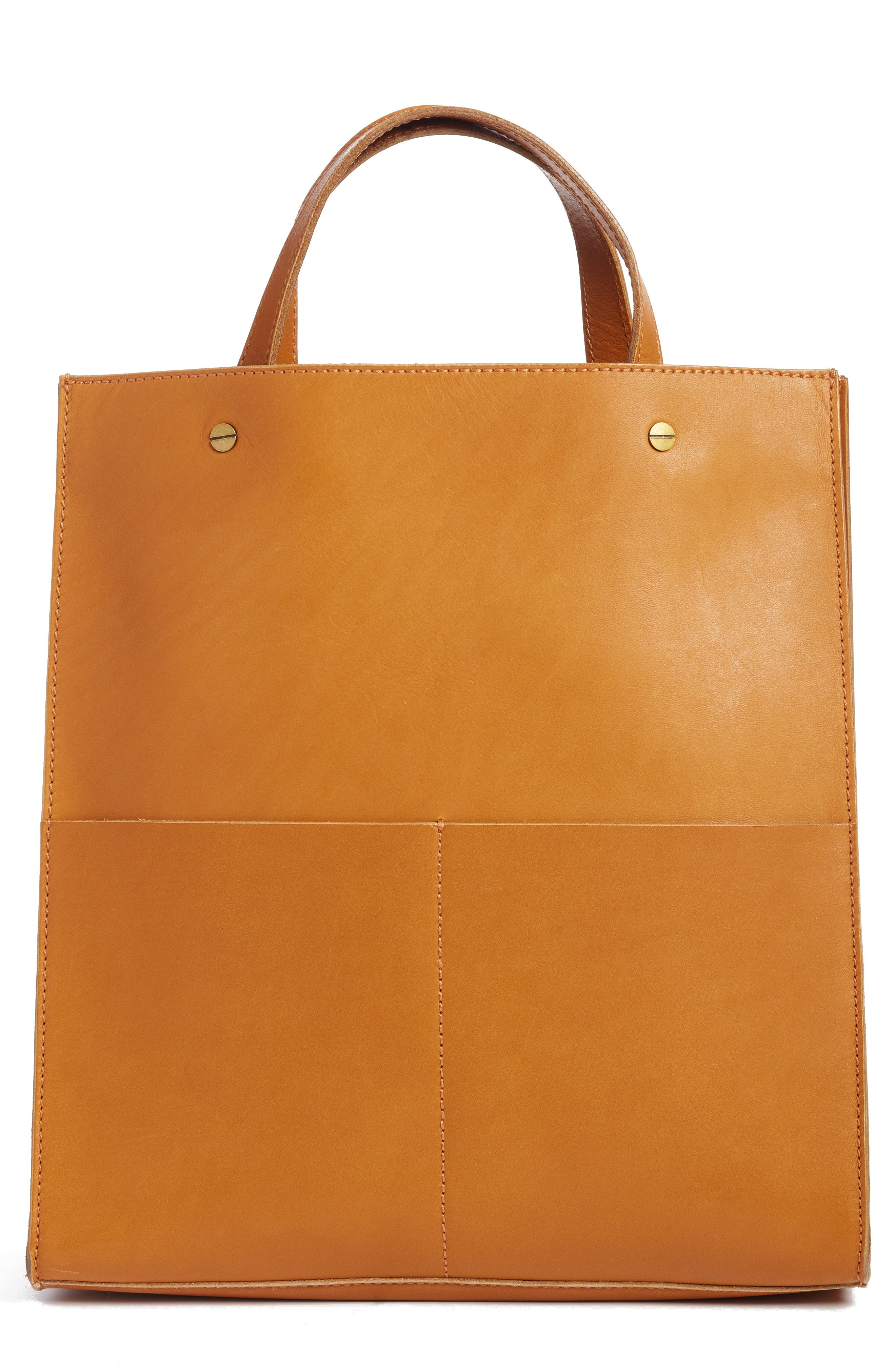 Alternate Image 1 Selected - Madewell The Passenger Convertible Leather Tote