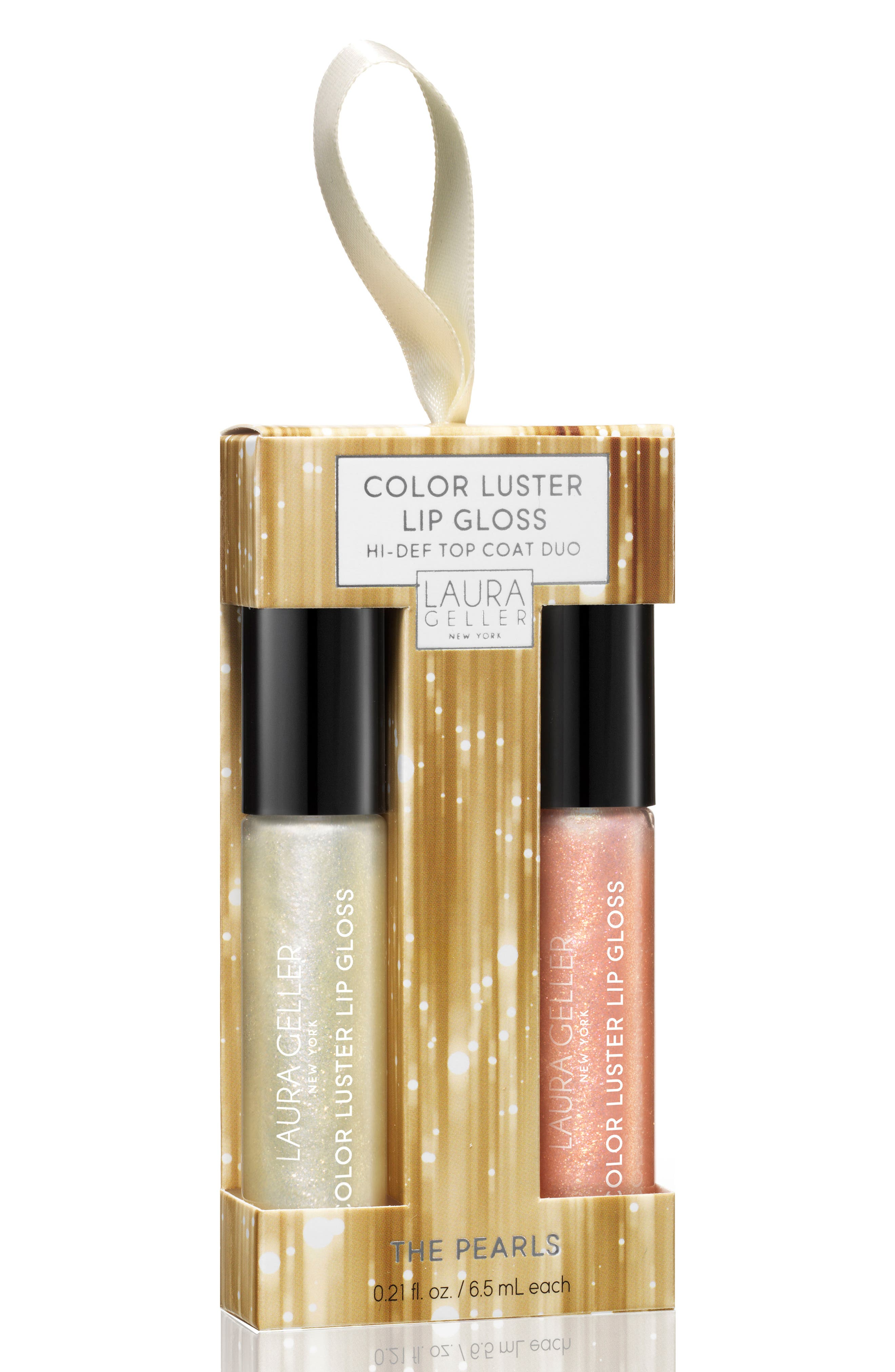 Laura Geller Beauty Color Luster Lip Topper Duo ($42 Value)