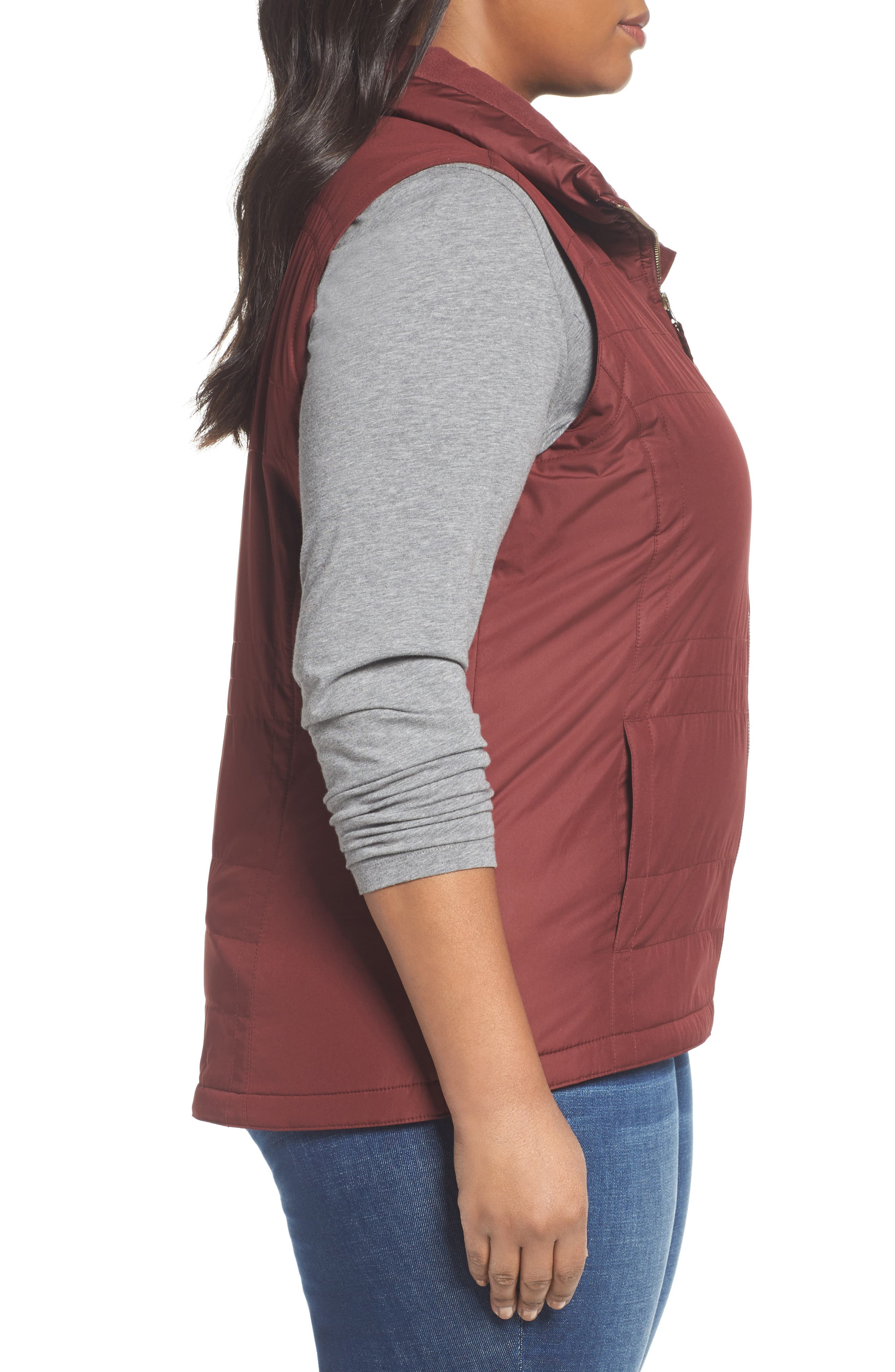 Alternate Image 3  - Columbia Shining Light II Quilted Vest (Plus Size)