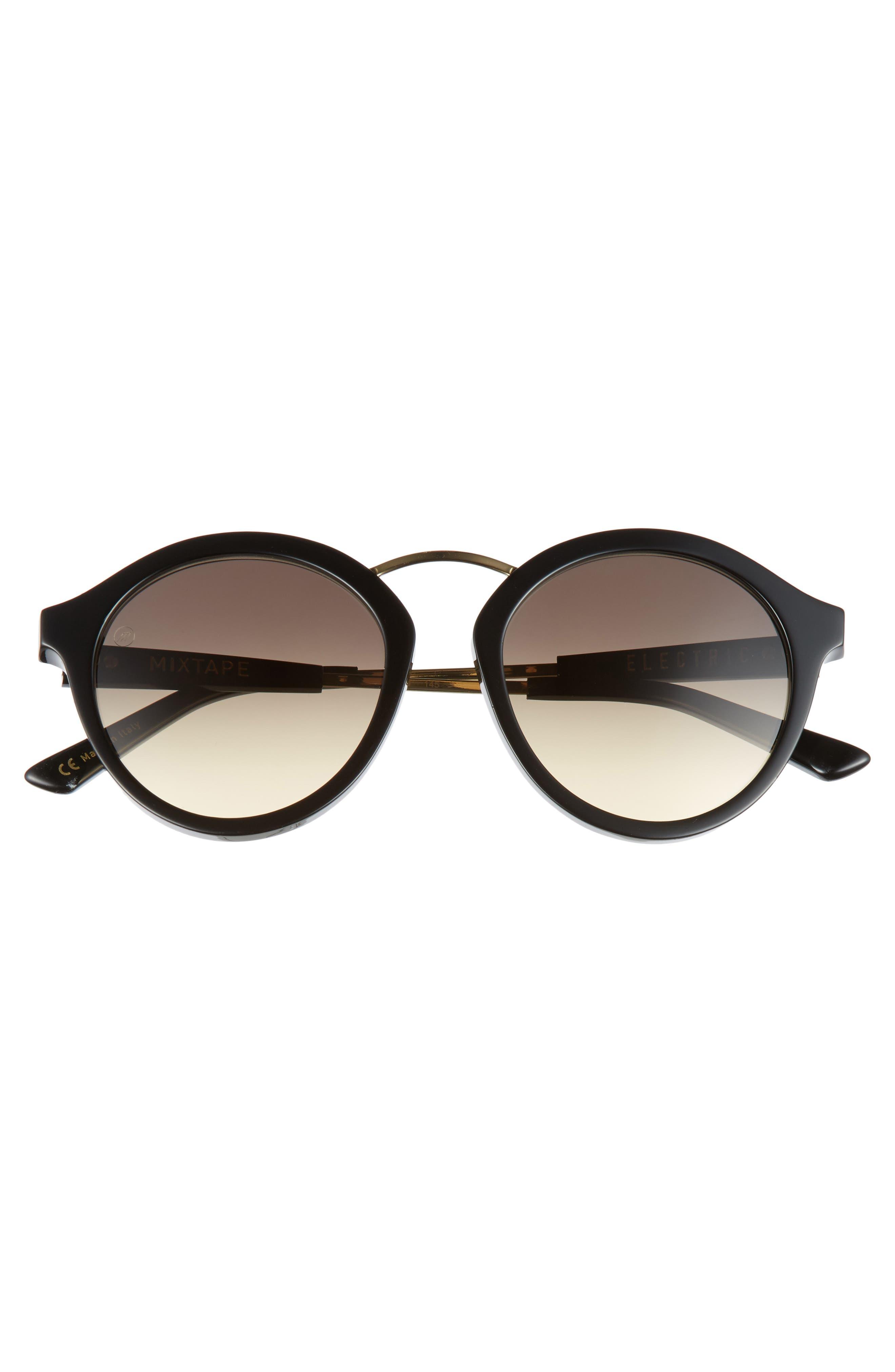 Alternate Image 3  - ELECTRIC Mix Tape 52mm Gradient Round Sunglasses
