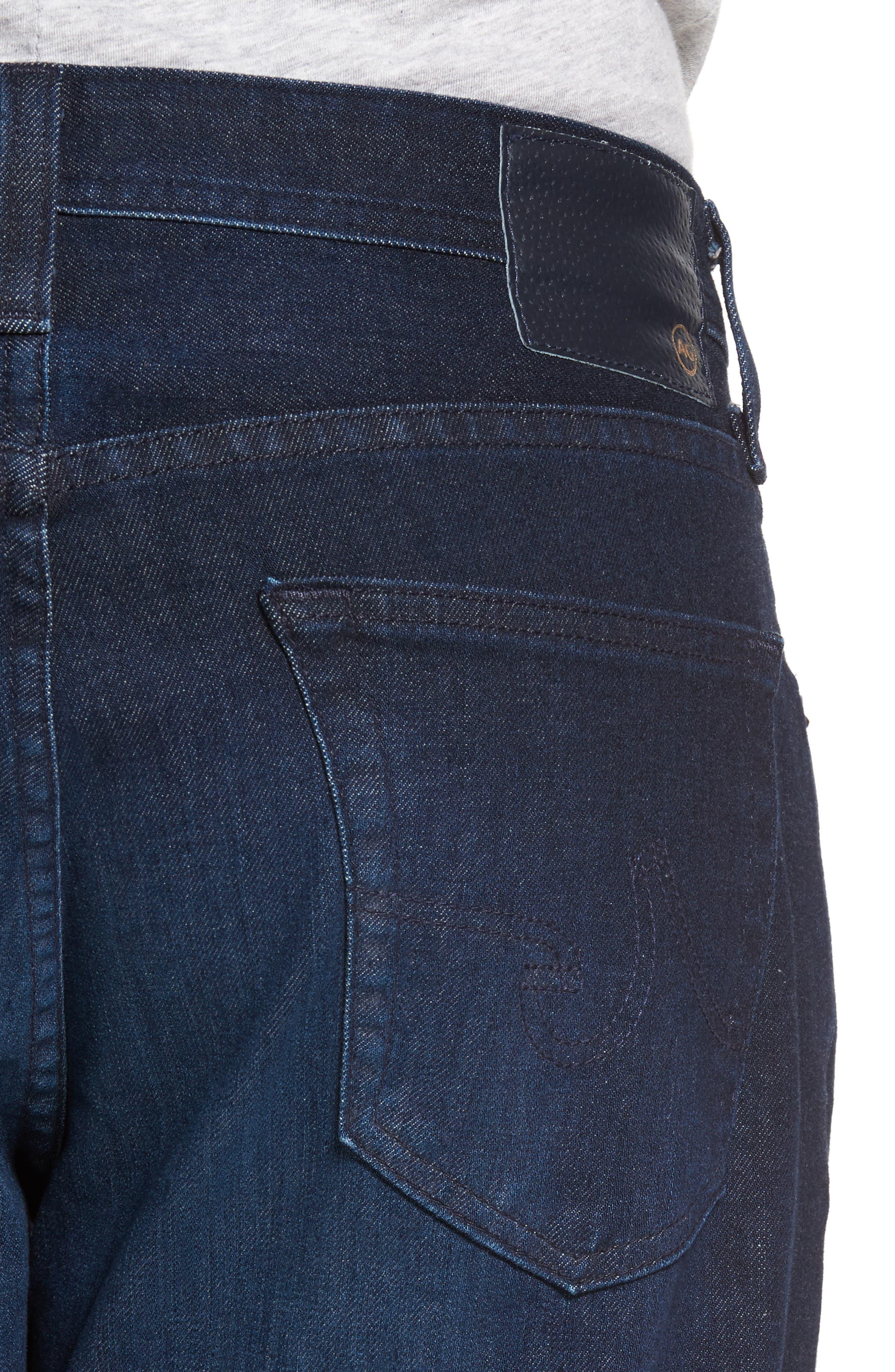 Alternate Image 4  - AG Ives Straight Leg Jeans (Vibe)