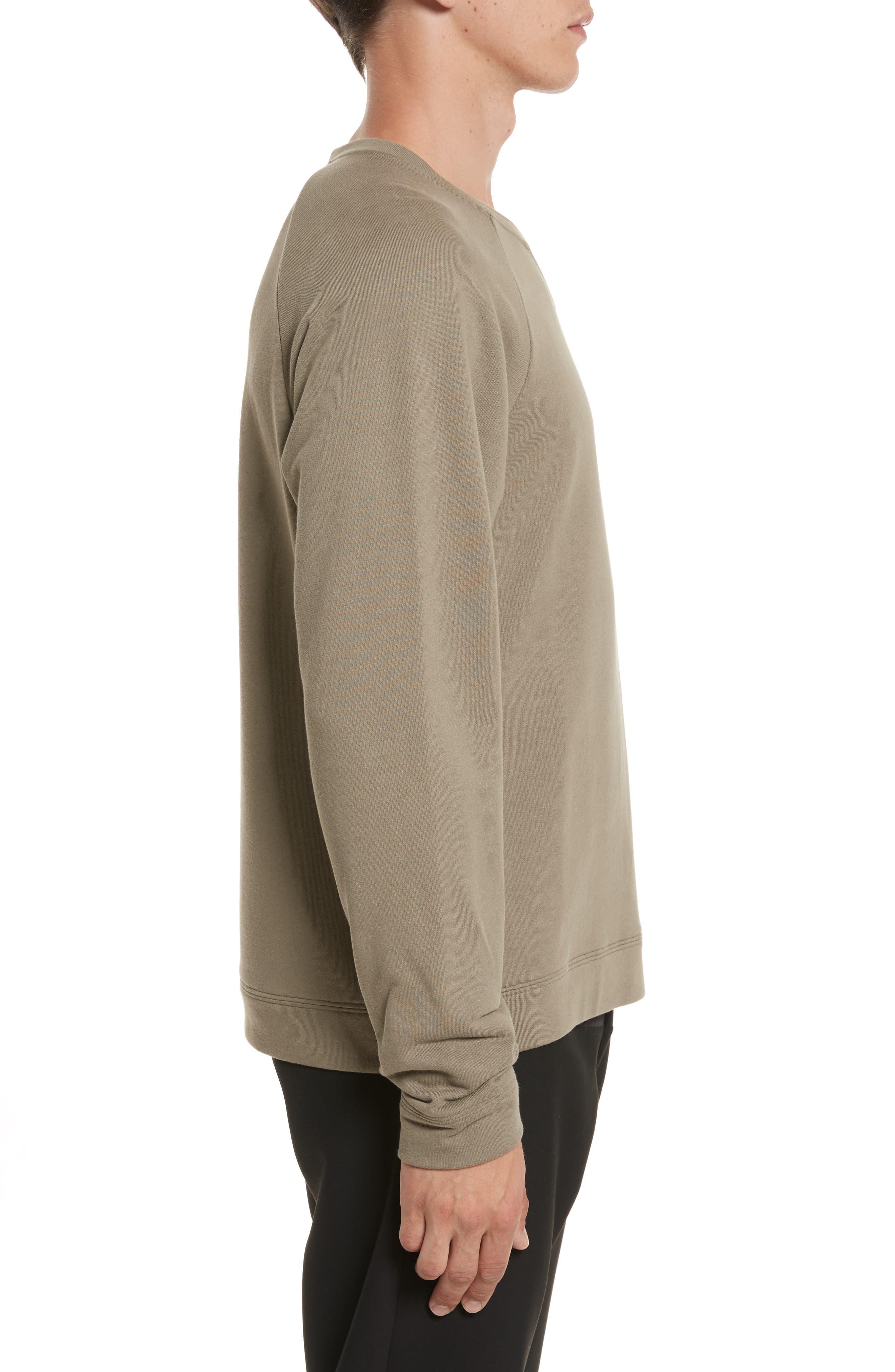 Alternate Image 3  - Versace Collection Patch Logo Sweatshirt