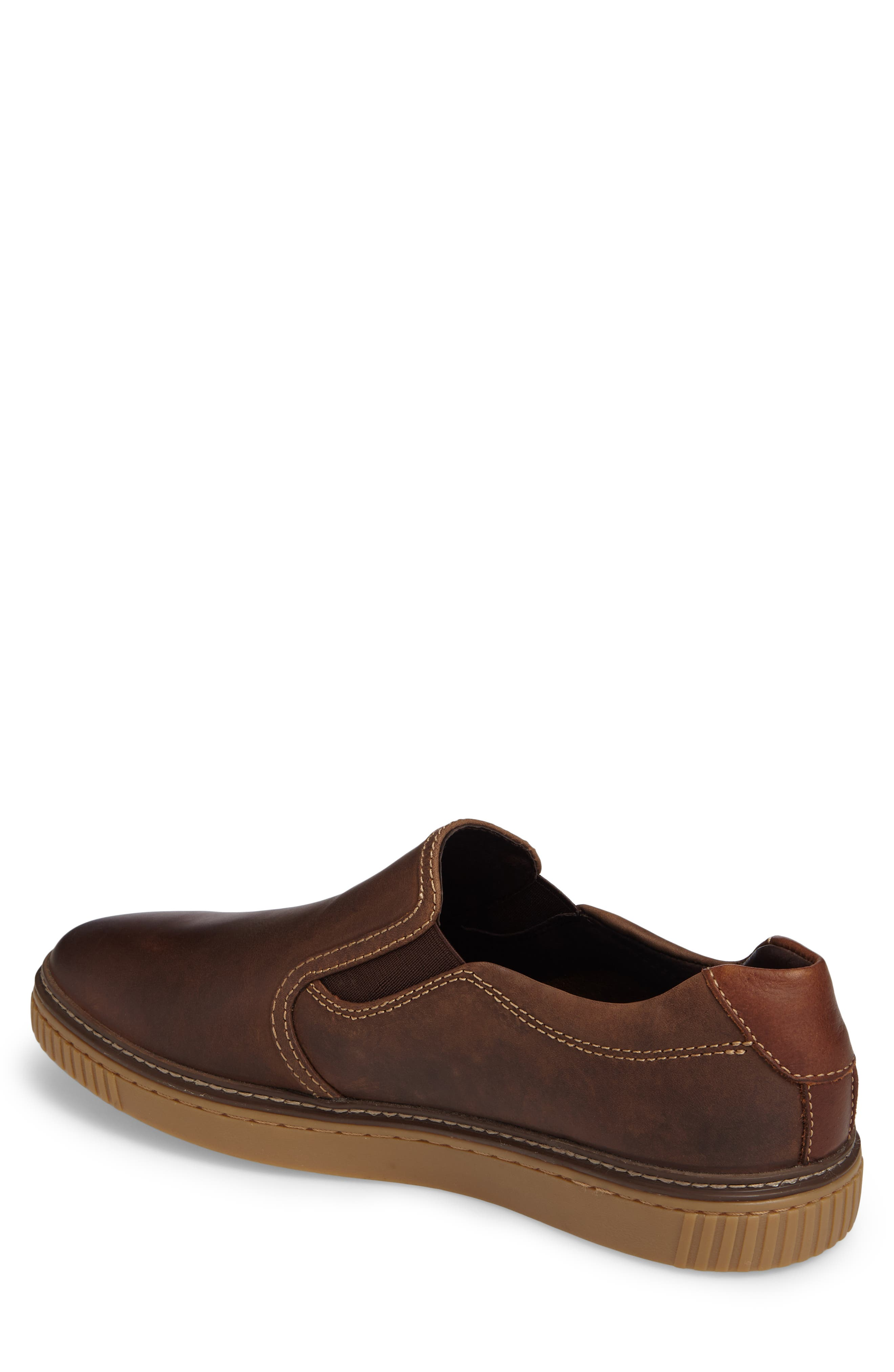 Wallace Slip-On Sneaker,                             Alternate thumbnail 2, color,                             Brown