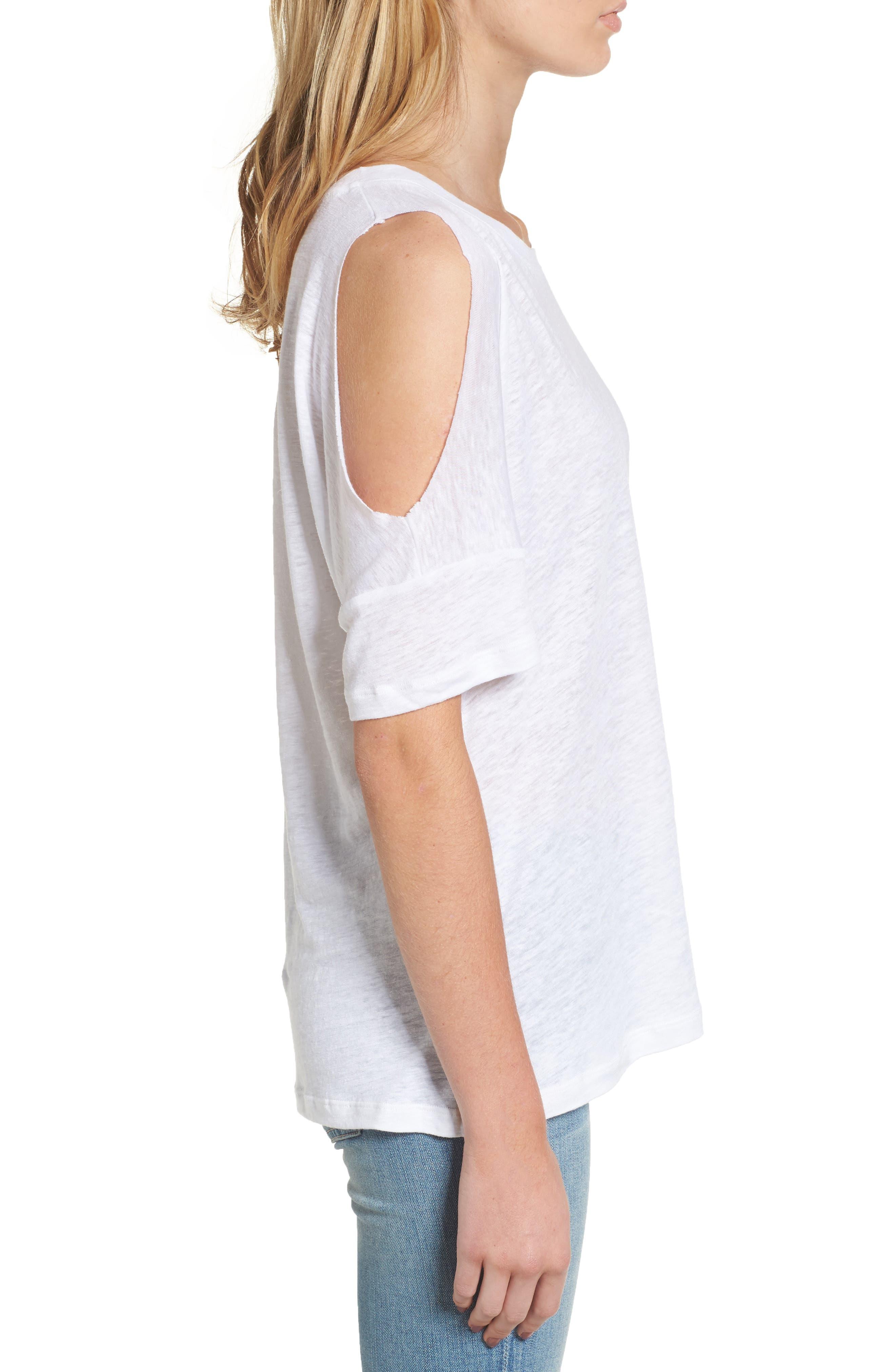 Alternate Image 3  - Rails Ricki Cold Shoulder Tee