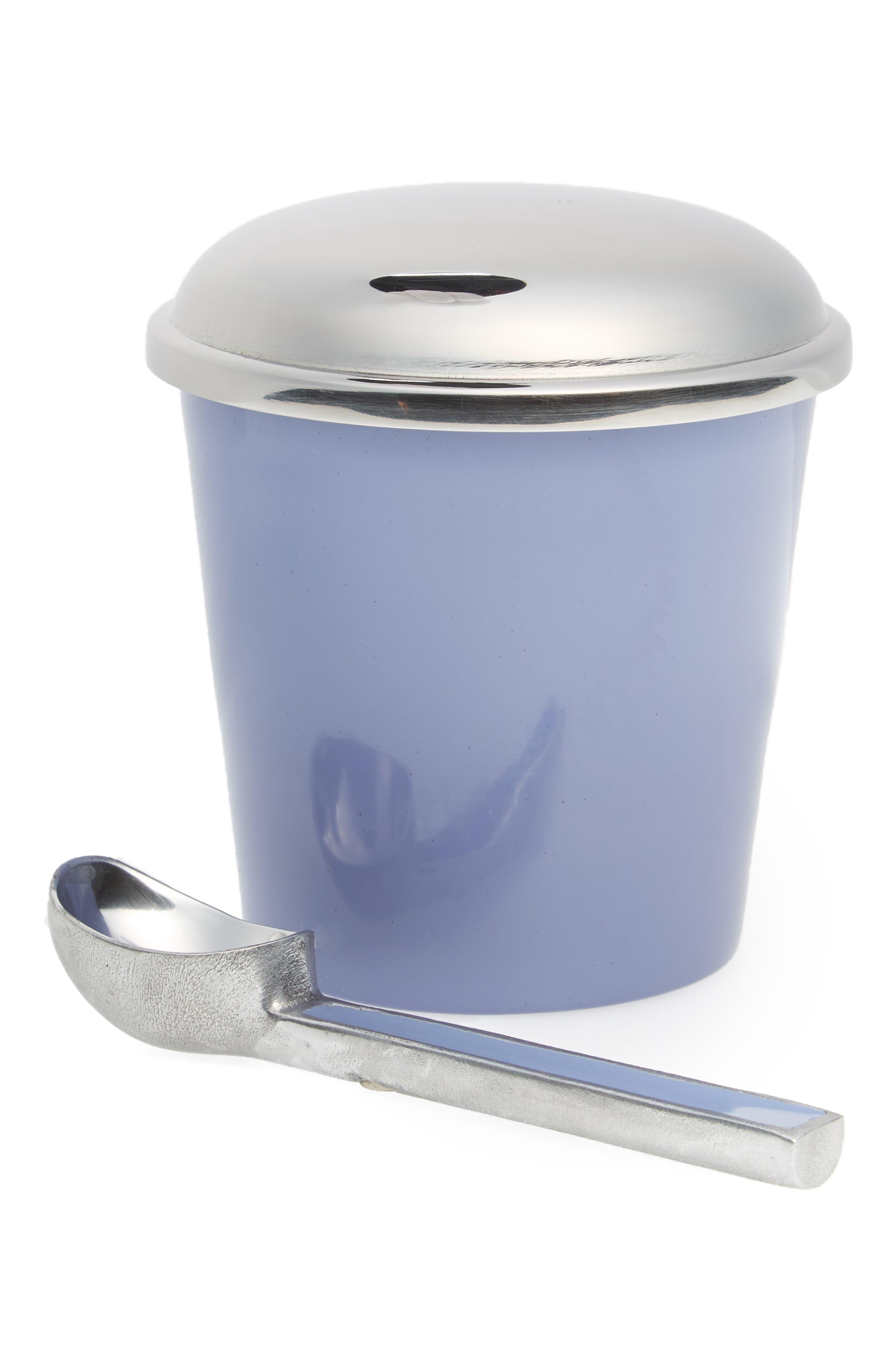 Ice Cream Container & Scoop Set,                         Main,                         color, Pastel Purple