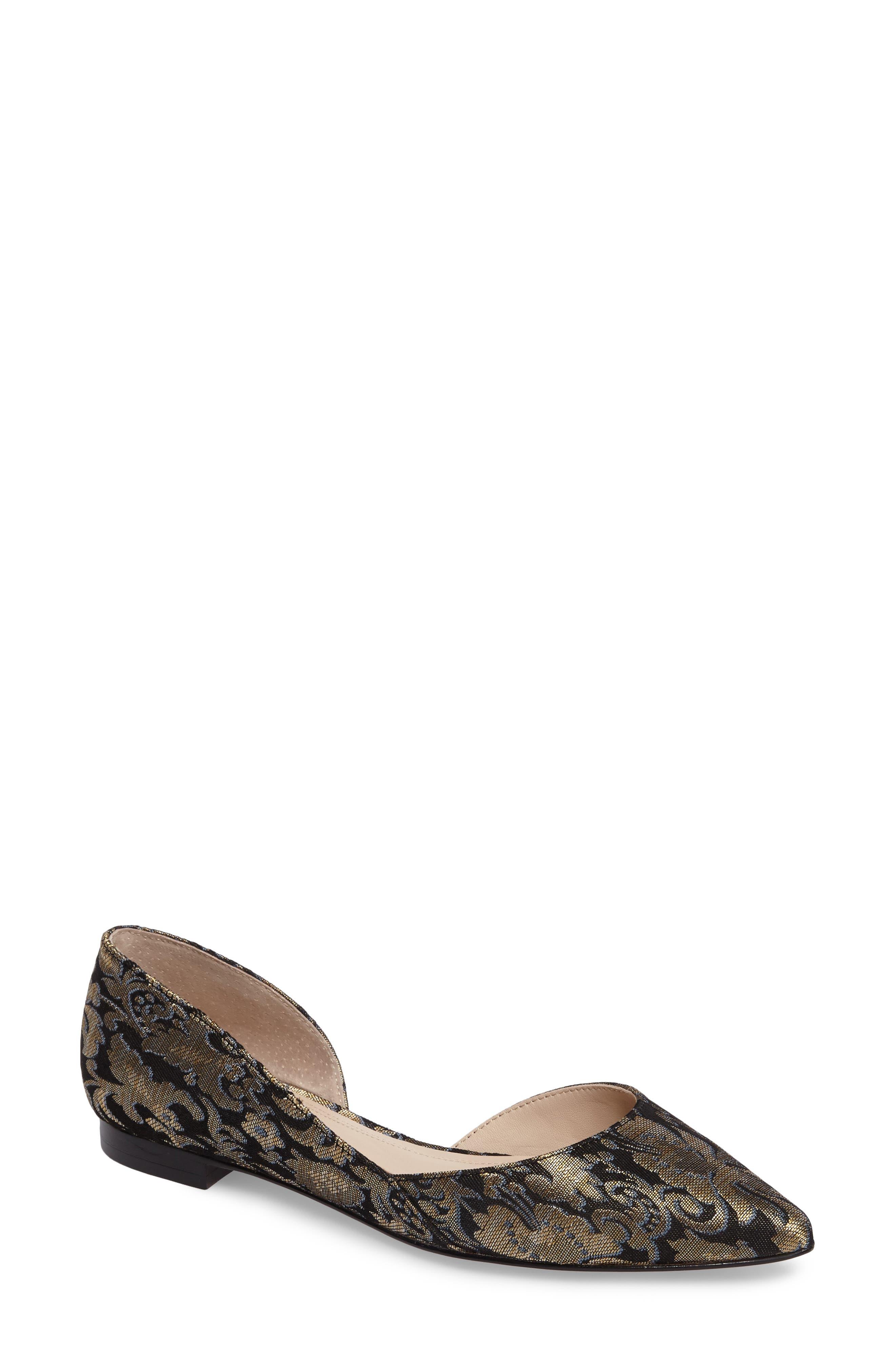 Alternate Image 1 Selected - Marc Fisher LTD 'Sunny' Half d'Orsay Flat (Women)