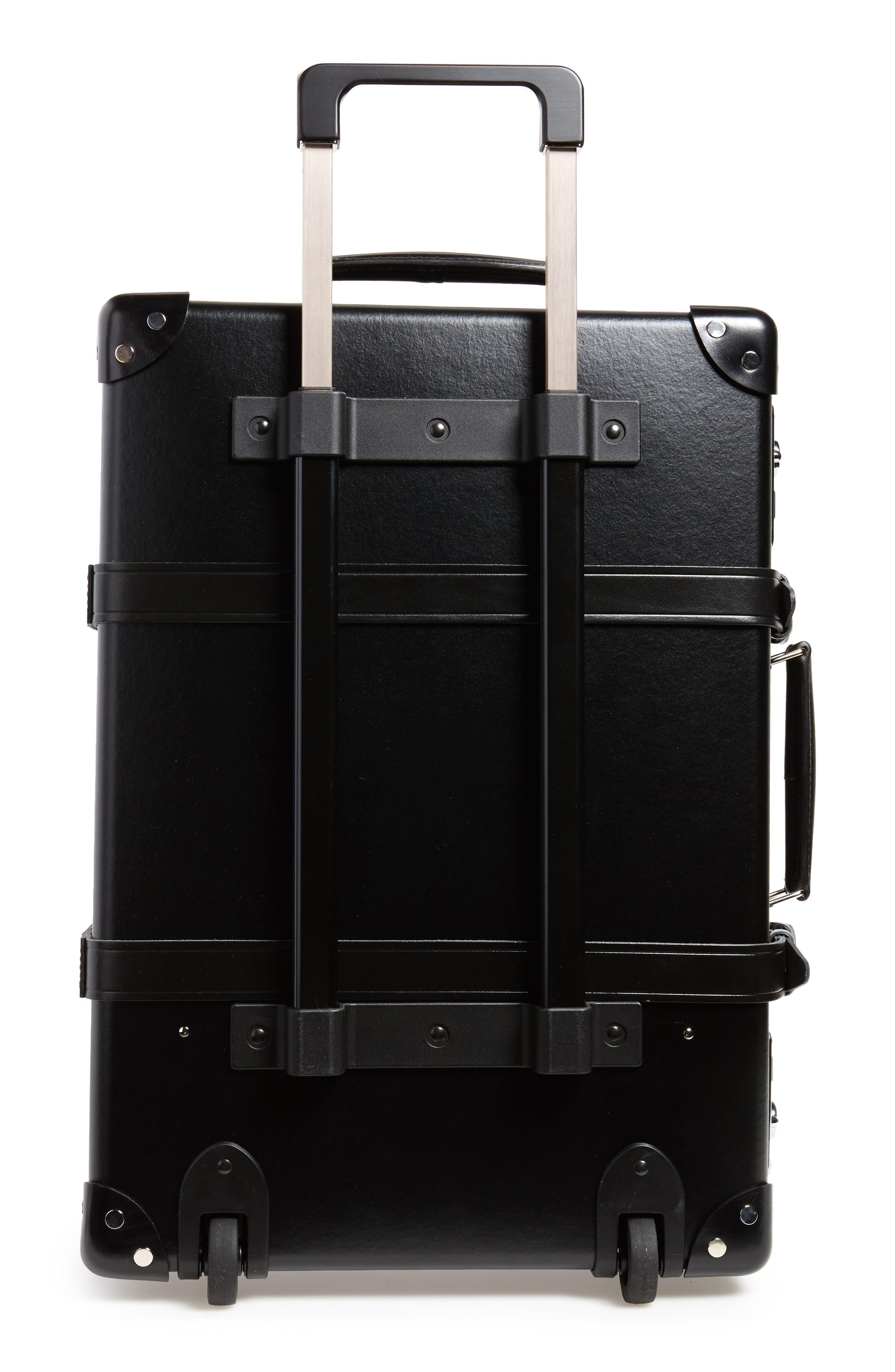 Centenary 21-Inch Hardshell Travel Trolley Case,                             Alternate thumbnail 3, color,                             Black/ Black